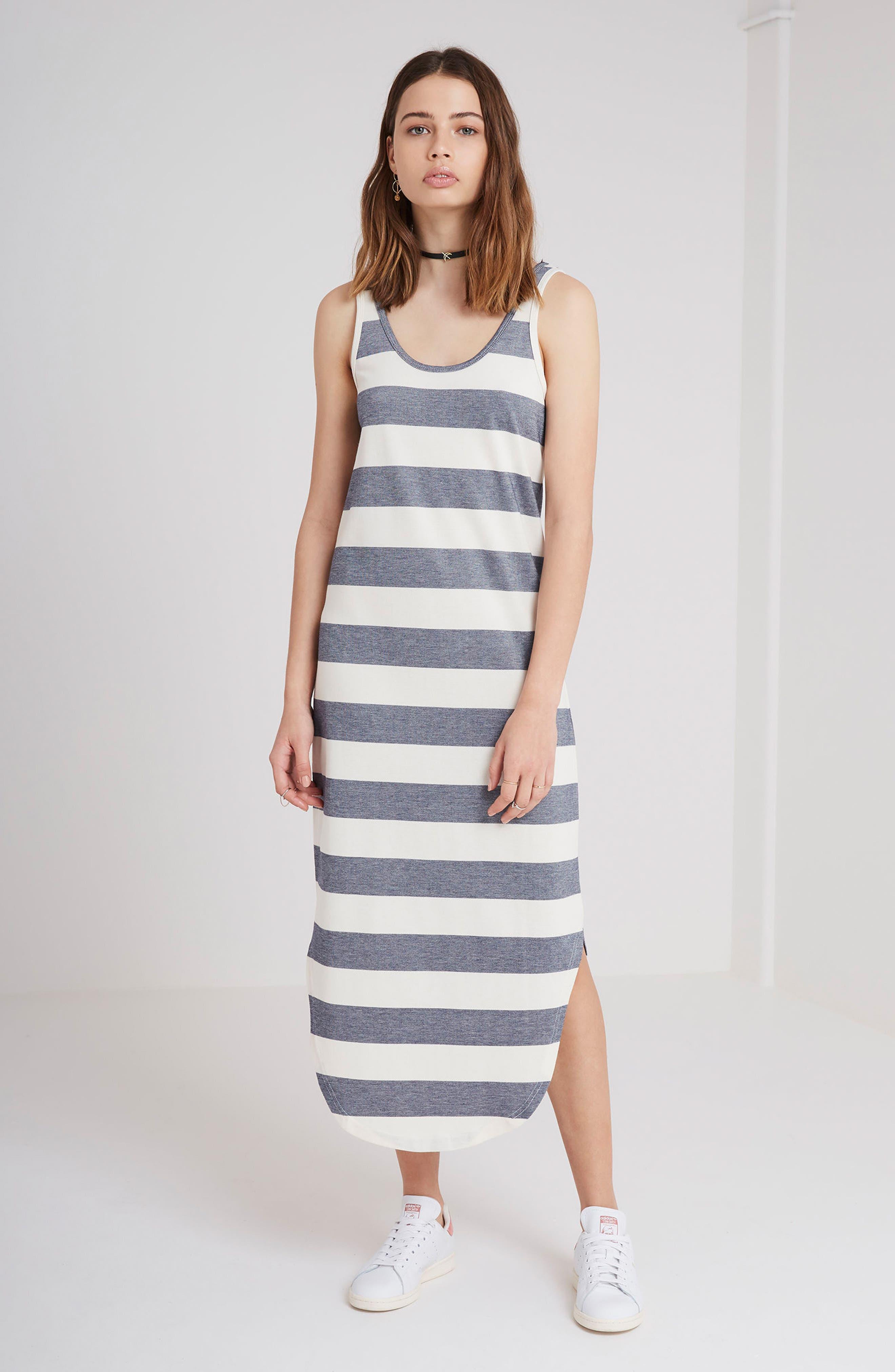 Alternate Image 2  - The Fifth Label Chelsea Stripe Midi Dress