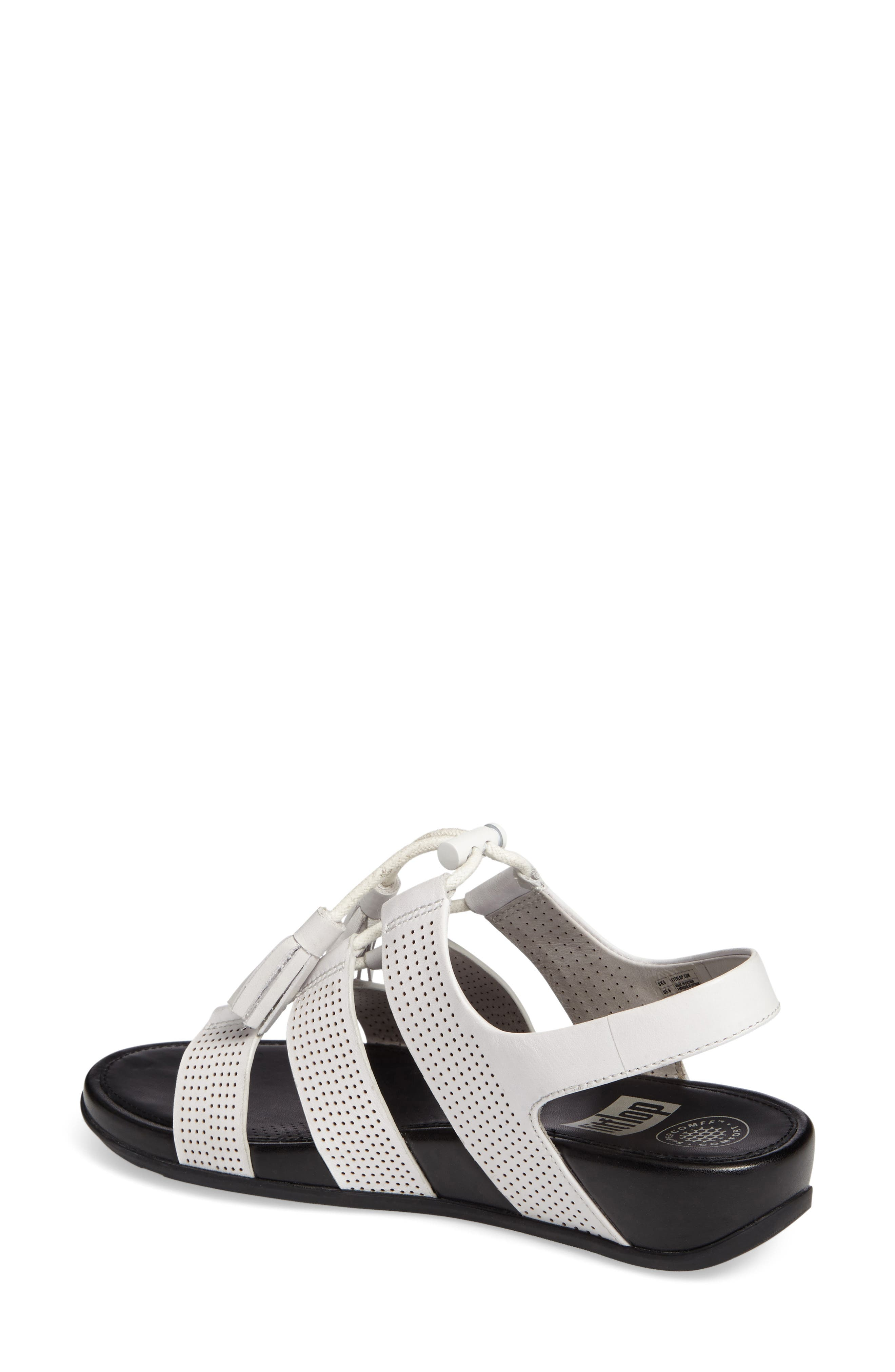 Alternate Image 2  - FitFlop Gladdie Lace-Up Sandal (Women)