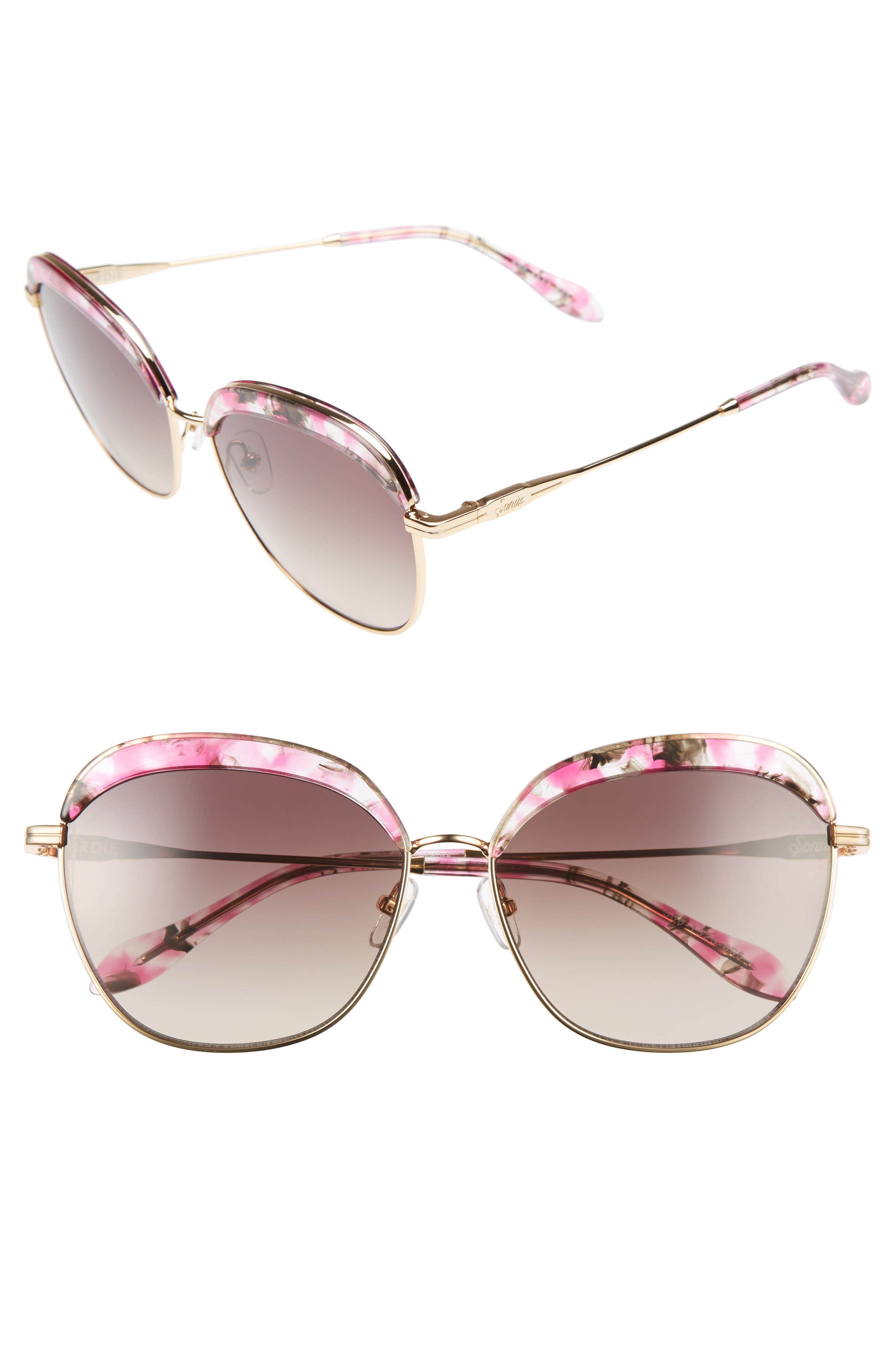 Sonix Birdie 60mm Oversize Sunglasses