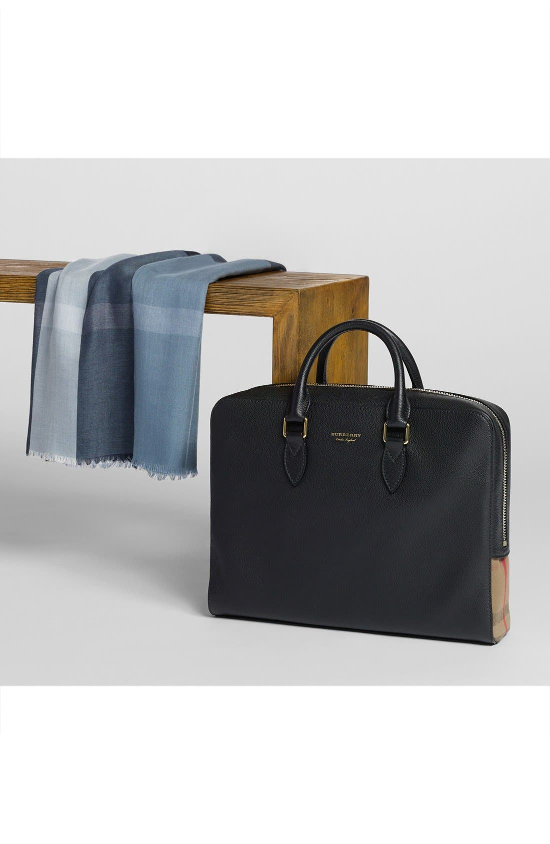 Alternate Image 6  - Burberry Horton Leather Briefcase