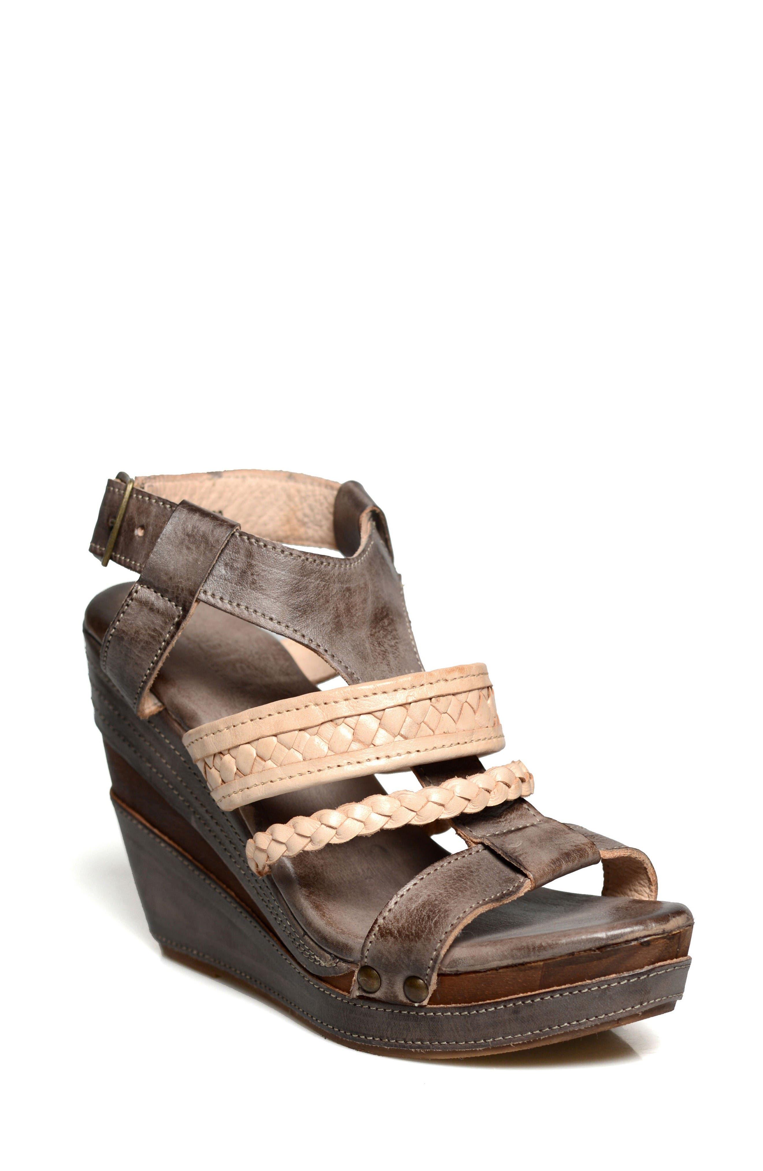 Alternate Image 1 Selected - Bed Stu Jaslyn Strappy Platform Sandal (Women)