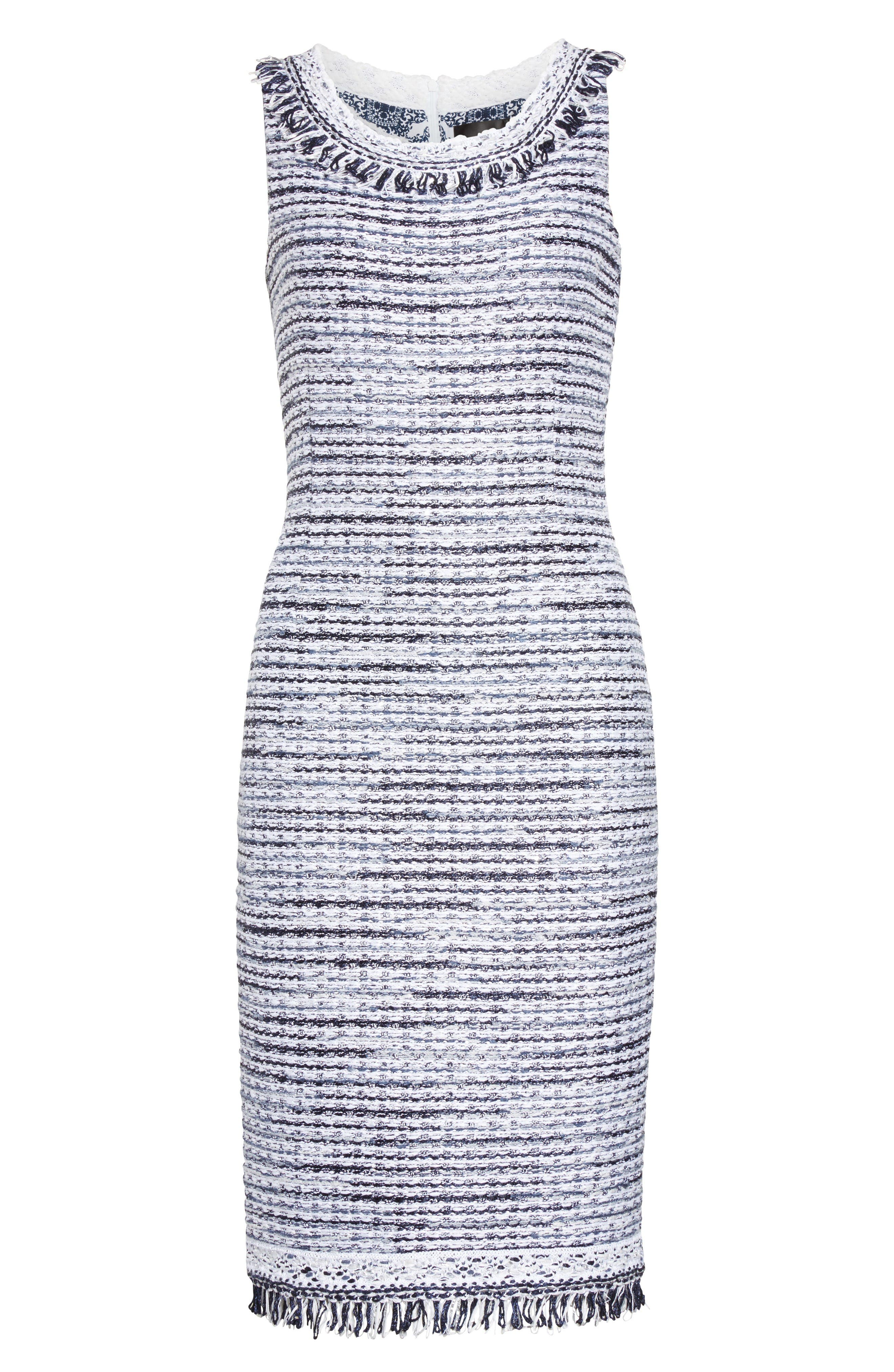 Alternate Image 6  - S. John Collection Tanya Knit Pencil Dress