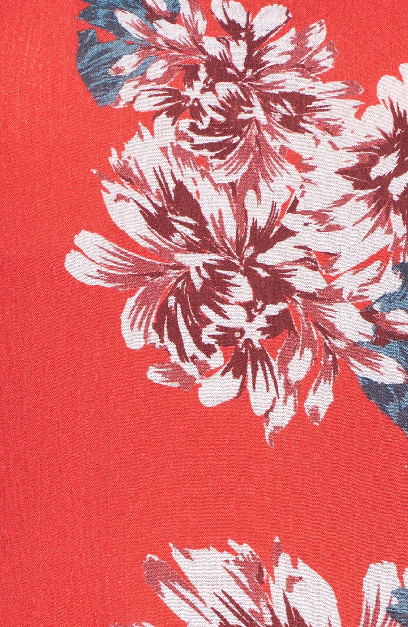 Alternate Image 6  - Mary & Mabel Floral Dress