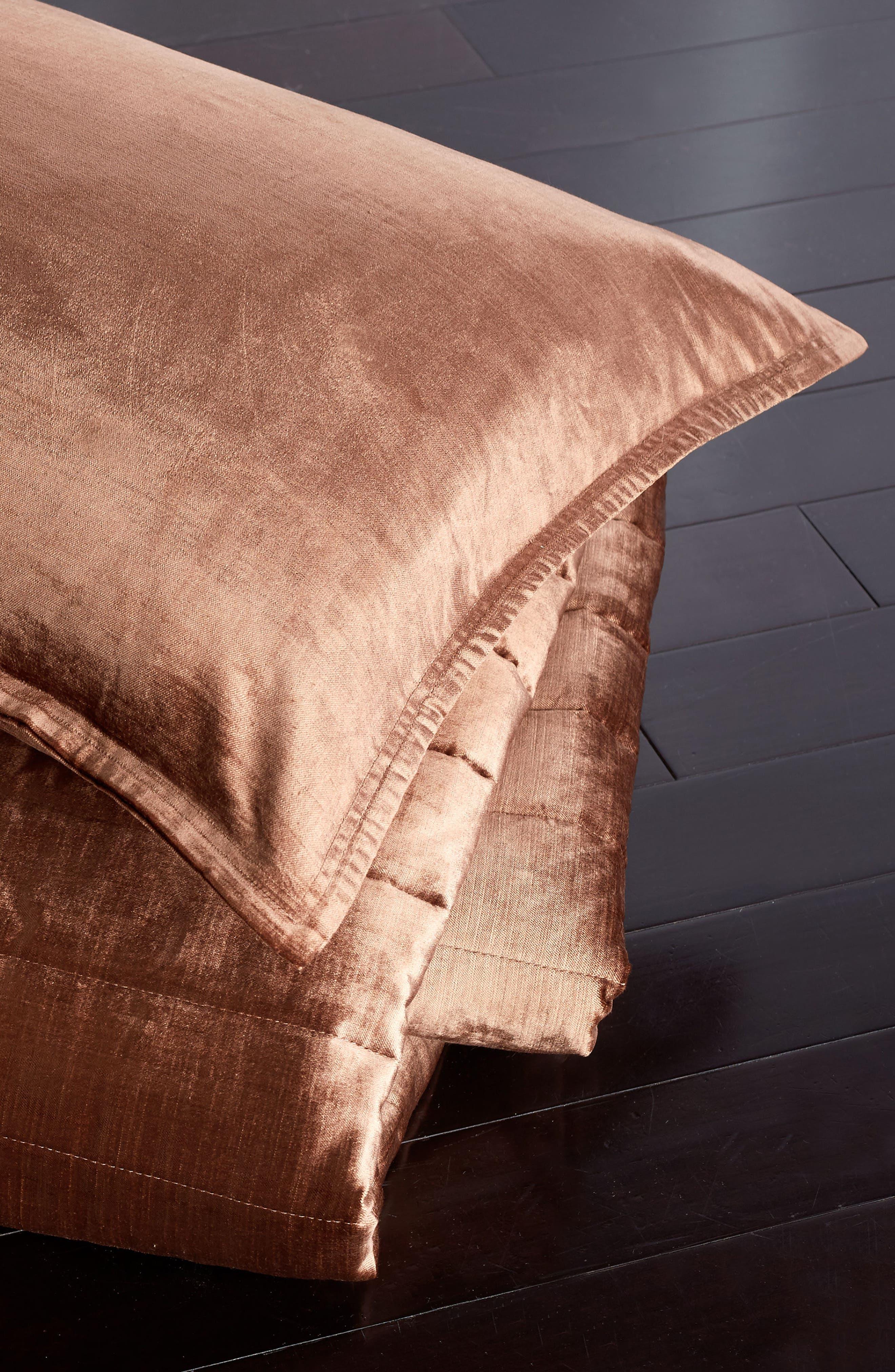 Donna Karan New York Velvet Quilt