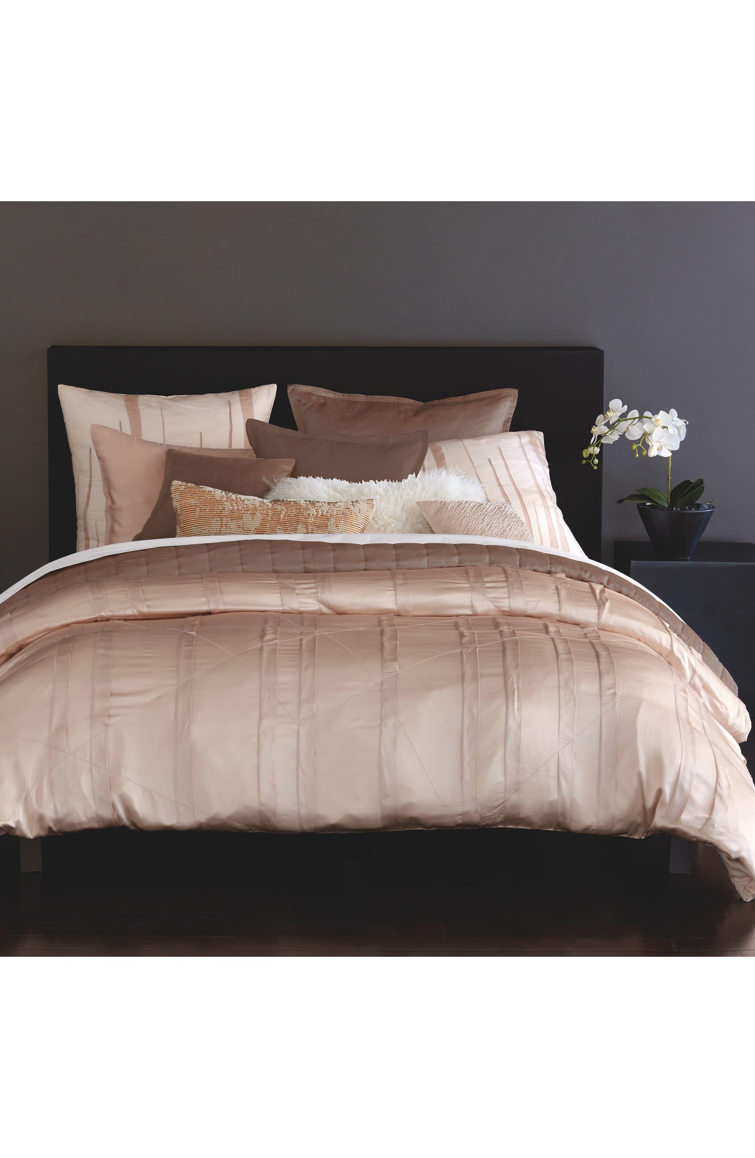 donna karan bedding clearance modern classics peacock collection silk essentials
