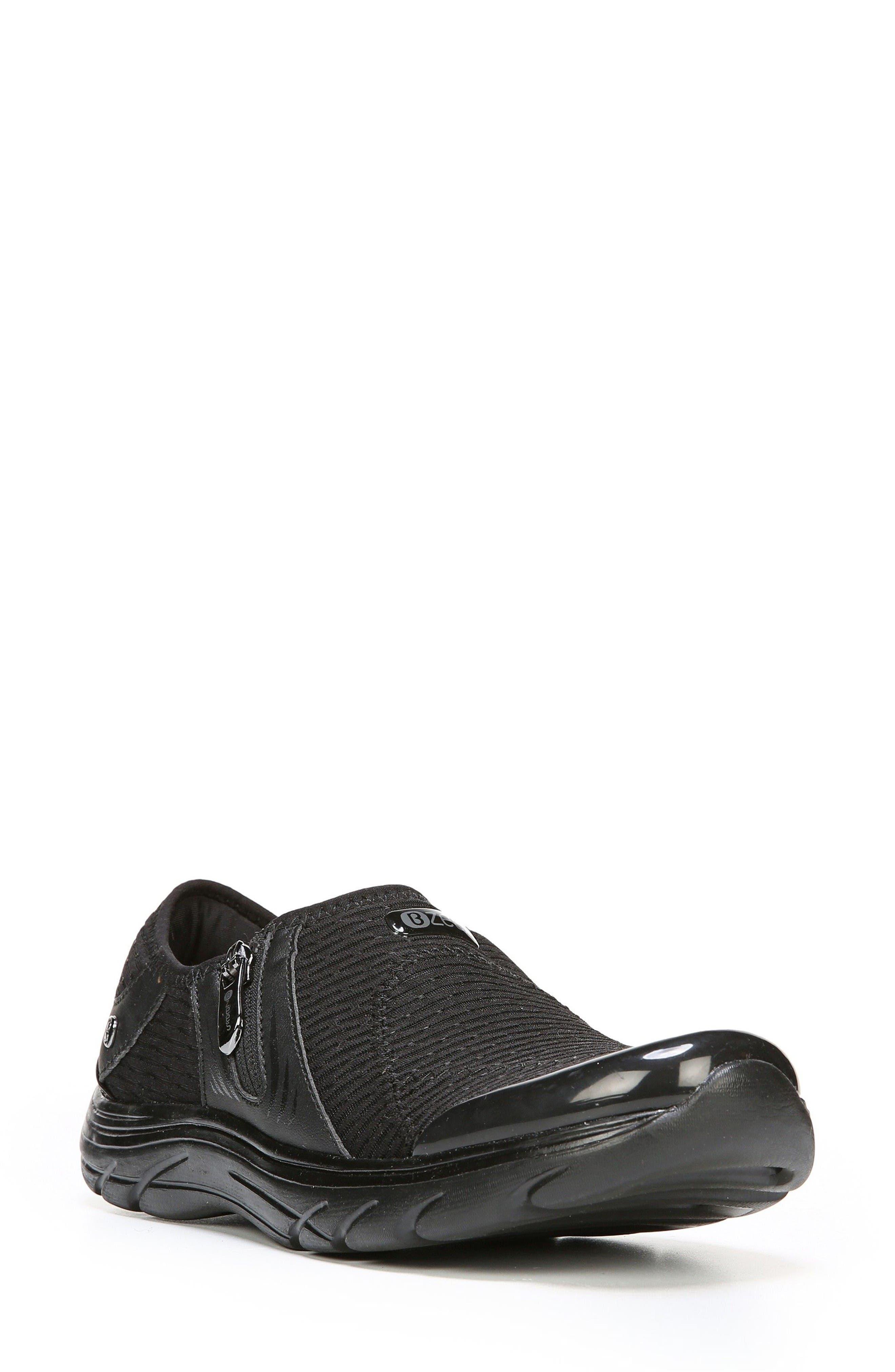 Balance Sneaker,                             Main thumbnail 1, color,                             Black Oval Fabric