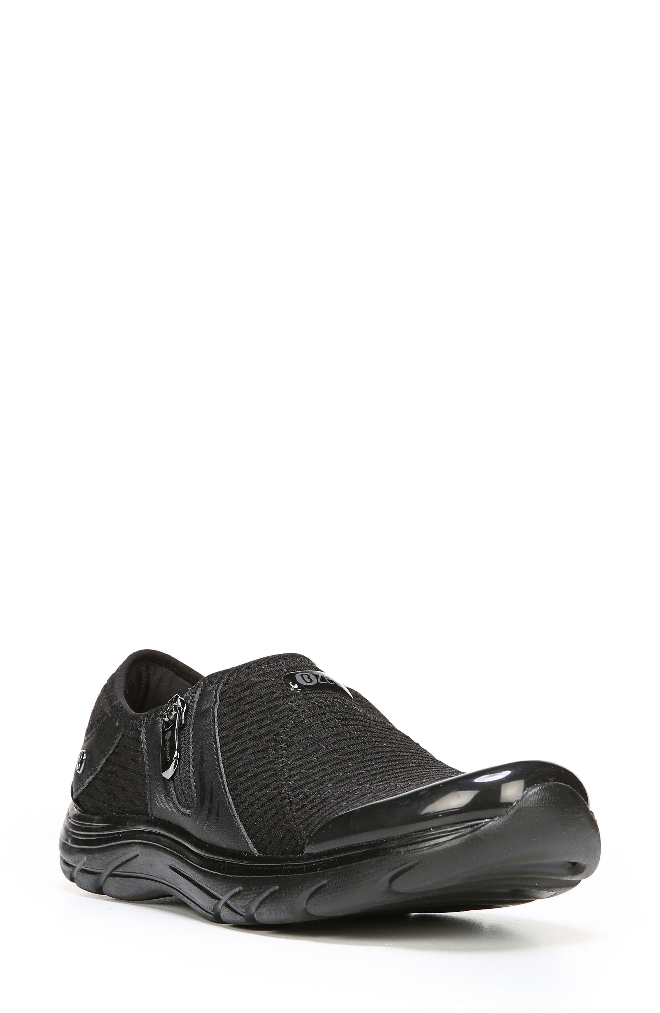 Balance Sneaker,                         Main,                         color, Black Oval Fabric