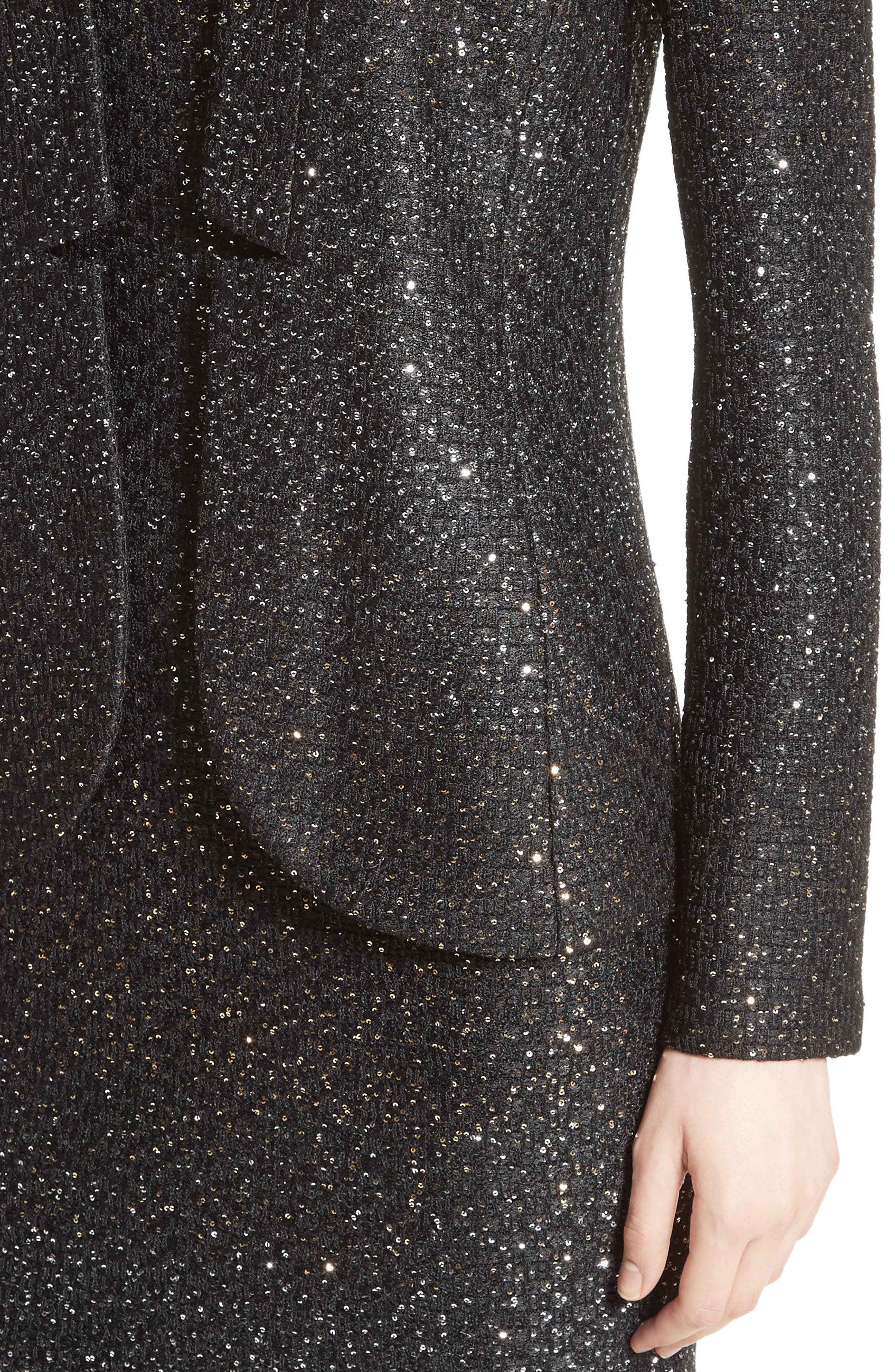 Alternate Image 4  - St. John Collection Pranay Sequin Knit Jacket