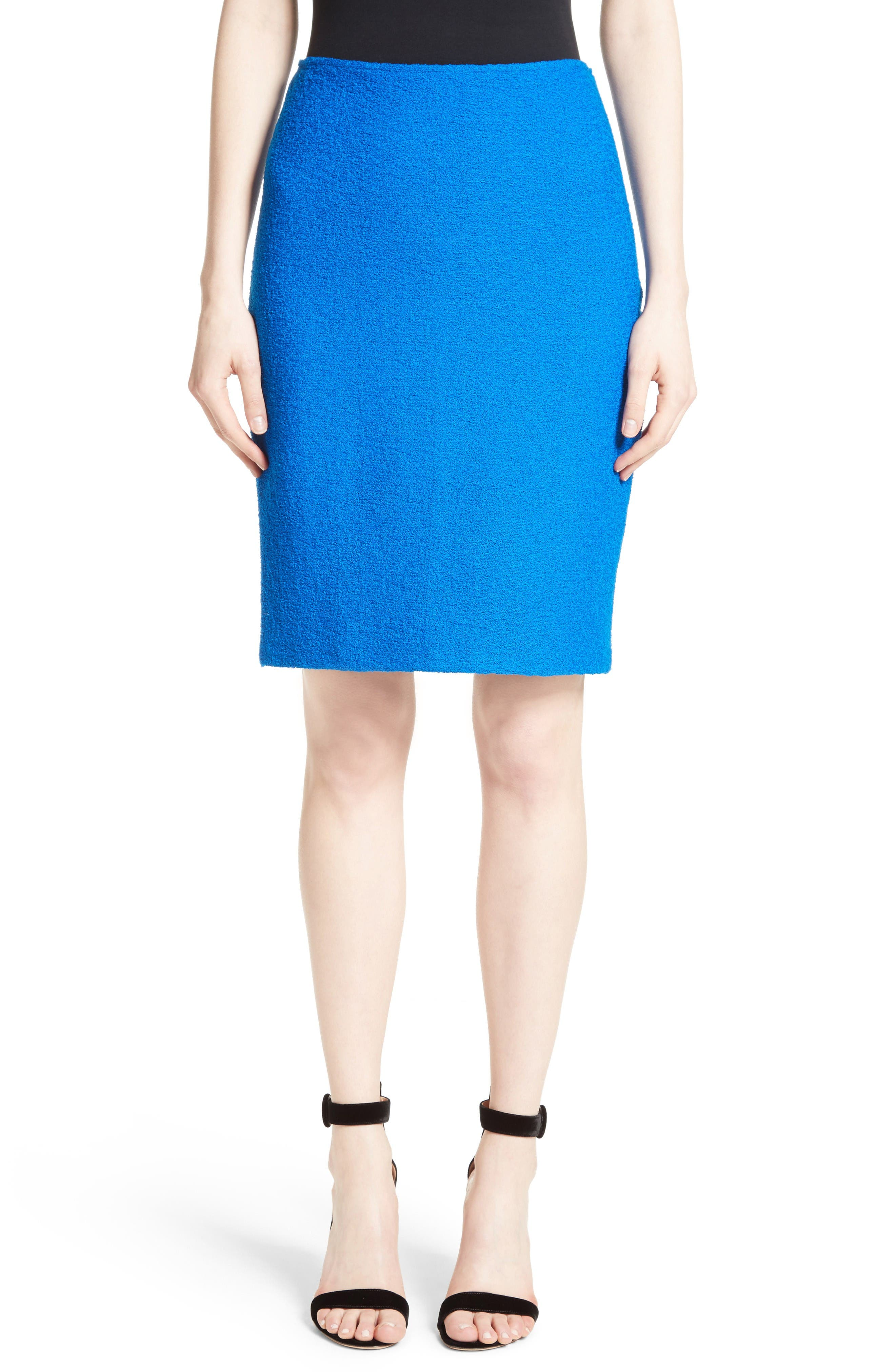 Main Image - St. John Collection Clair Knit Pencil Skirt