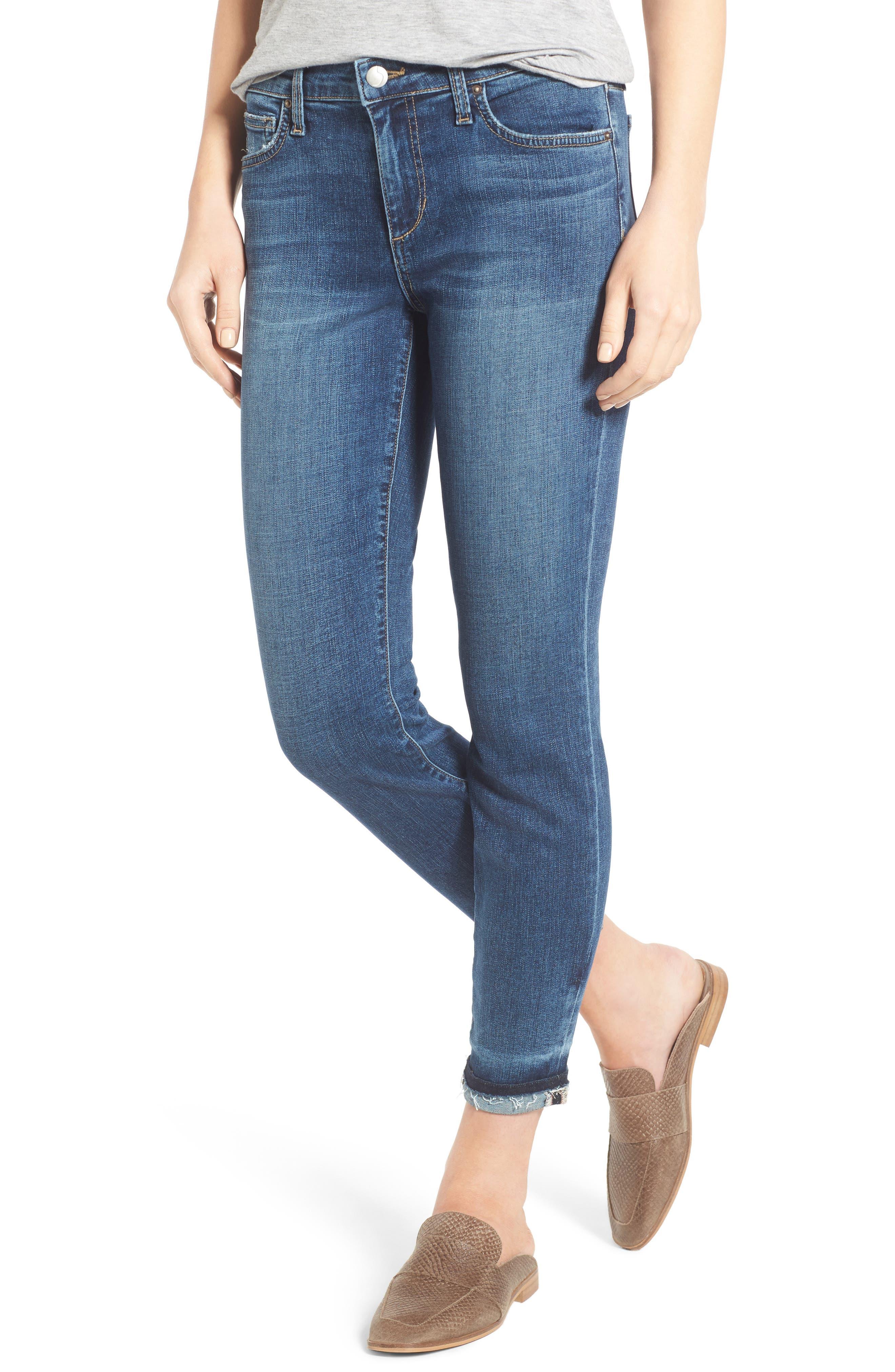 Alternate Image 1 Selected - Joe's Markie Crop Skinny Jeans (Breanna)