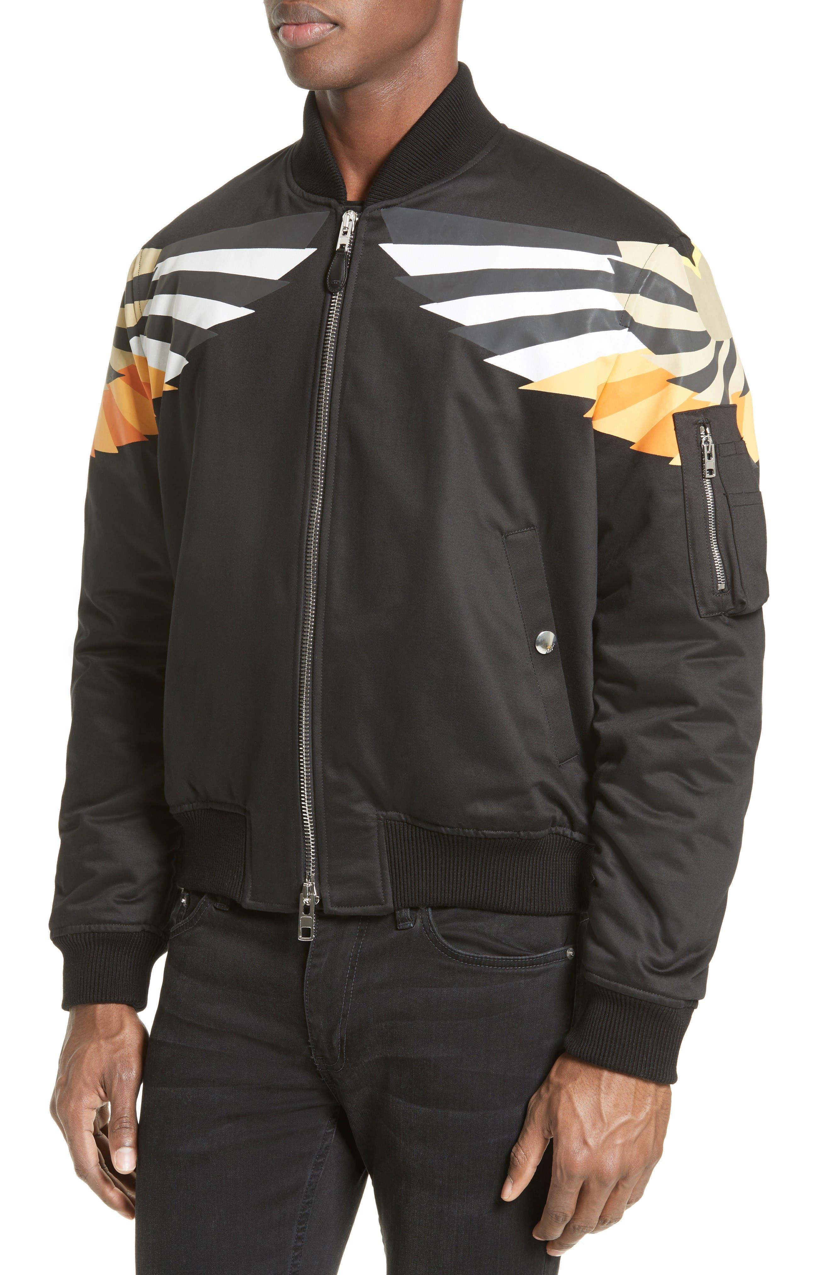 Alternate Image 4  - Givenchy Wing Print Bomber Jacket