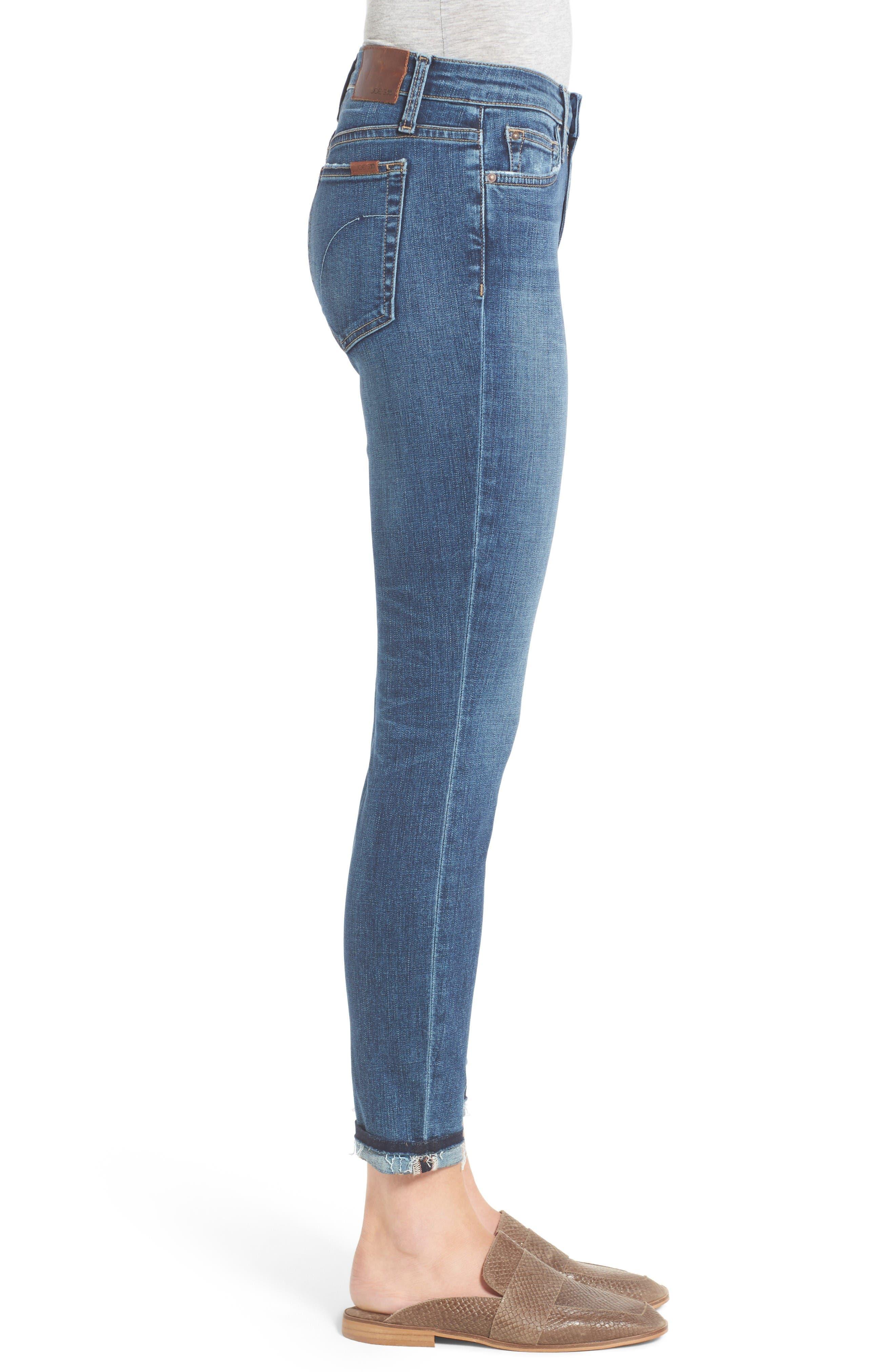 Alternate Image 3  - Joe's Markie Crop Skinny Jeans (Breanna)