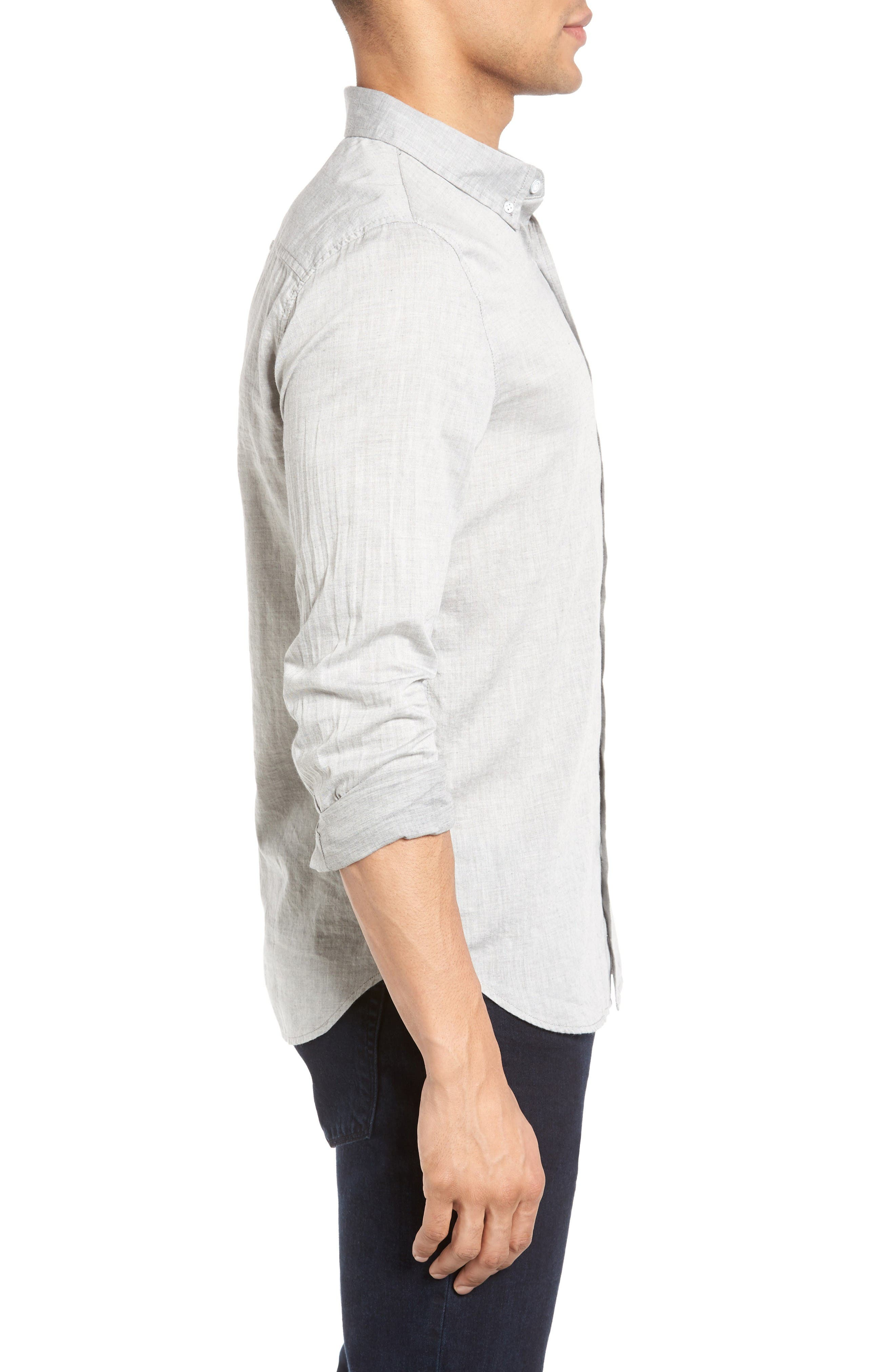 Alternate Image 3  - AG Grady Trim Fit Sport Shirt