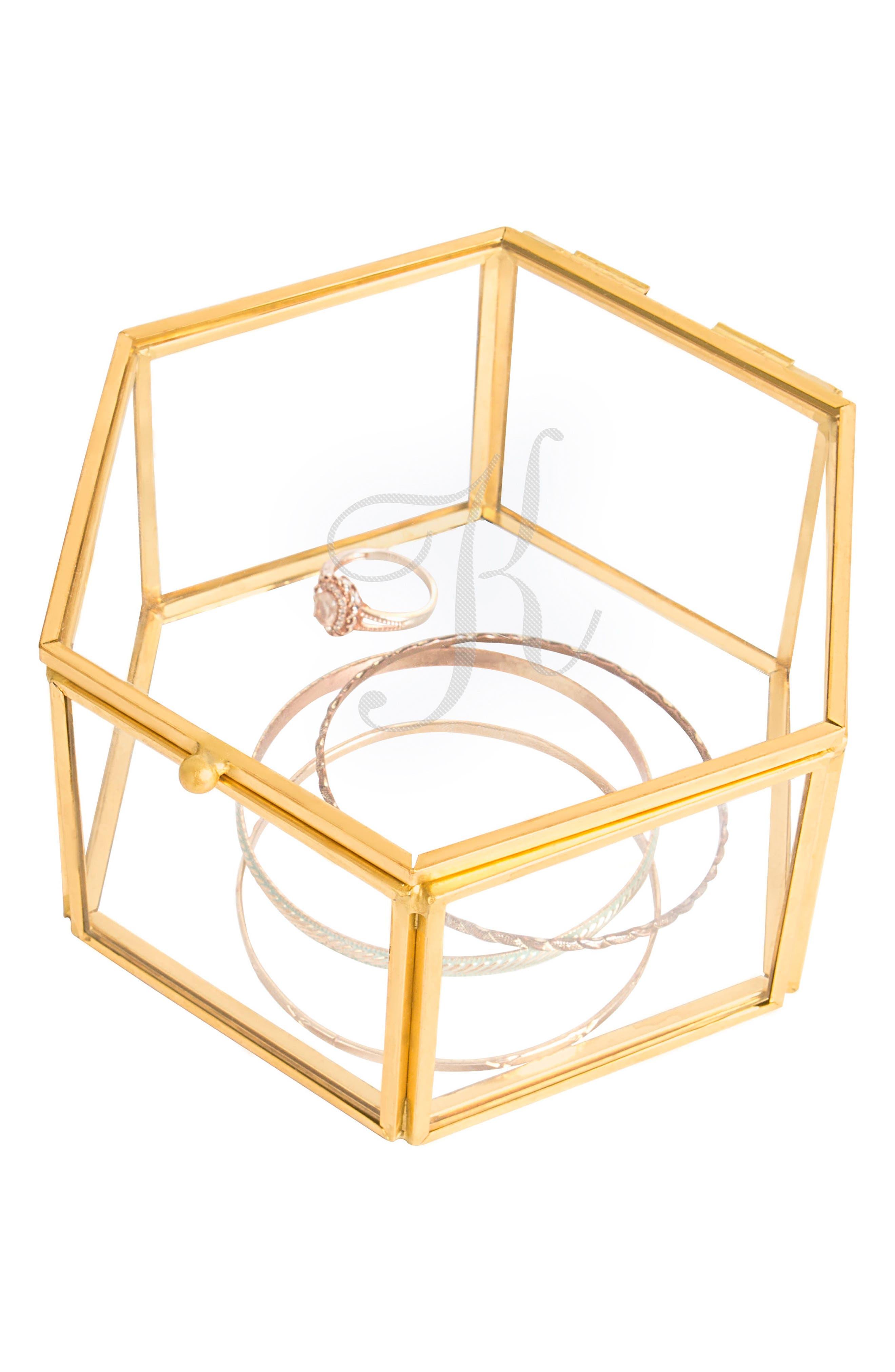 Alternate Image 2  - Cathy's Concepts Monogram Keepsake Box