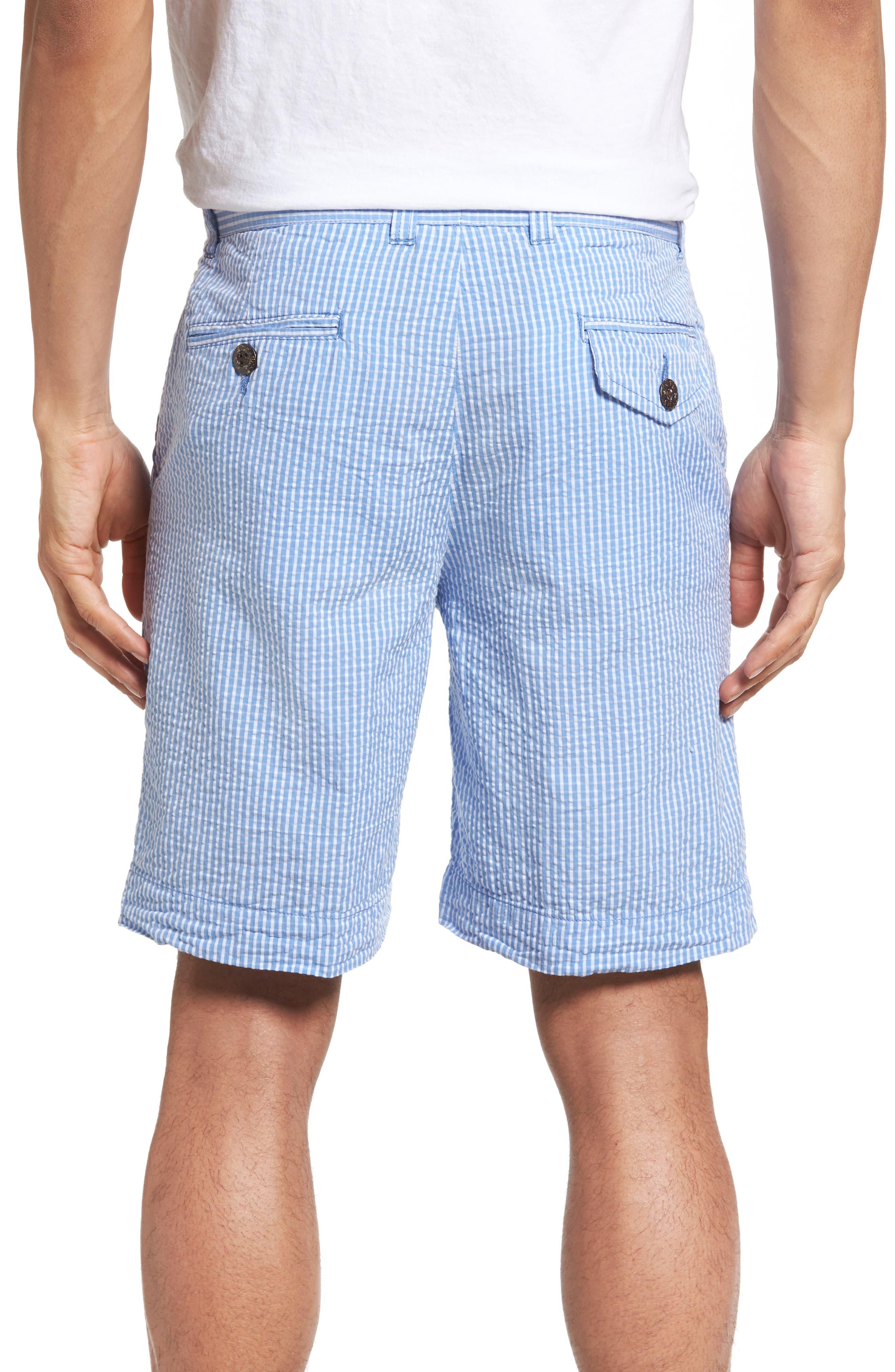 Alternate Image 2  - Vintage 1946 Stripe Seersucker Shorts