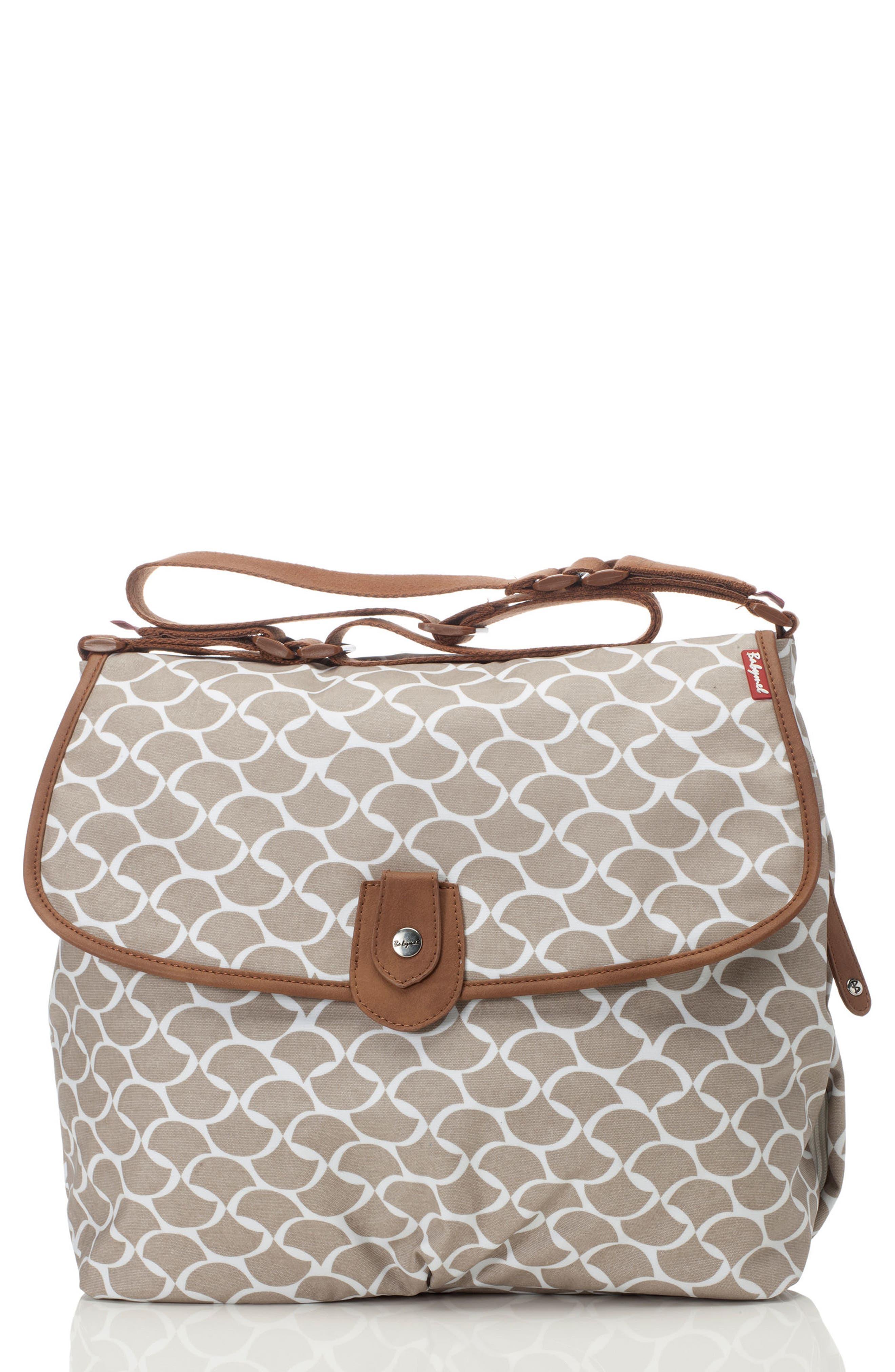 Babymel Satchel Wave Fawn Diaper Bag