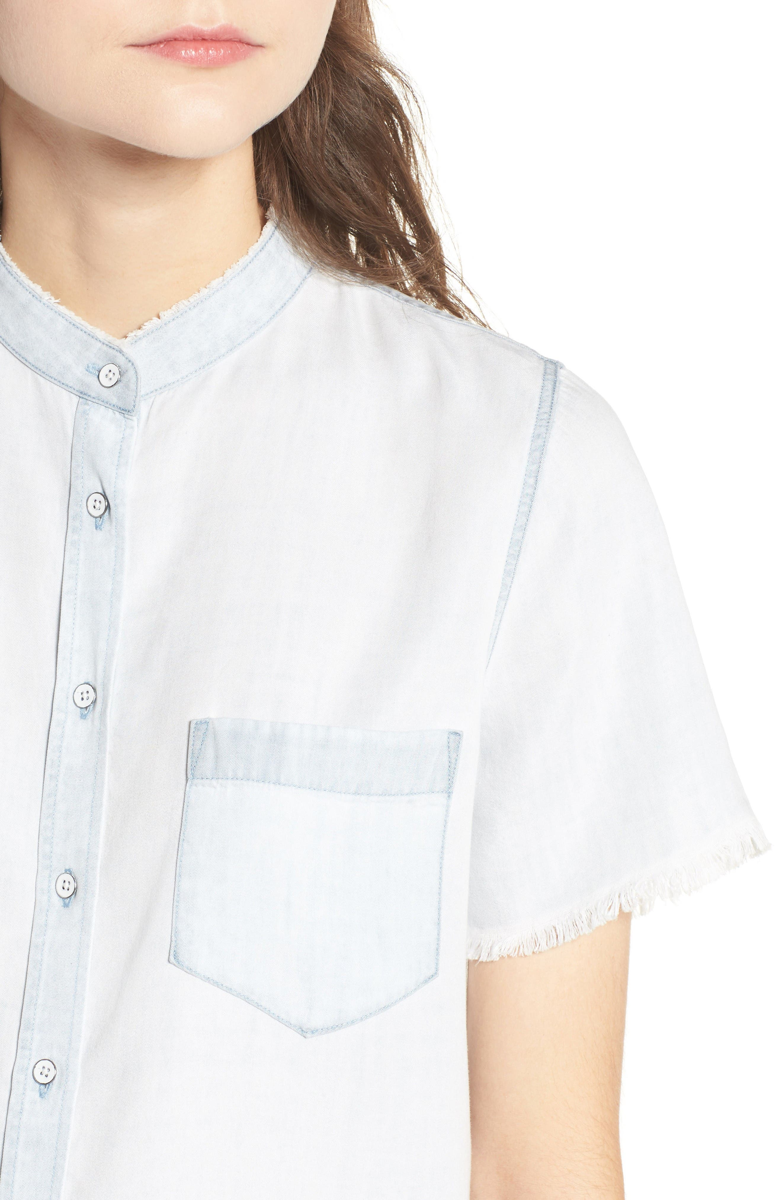 Montauk Shirt,                             Alternate thumbnail 4, color,                             Bleached