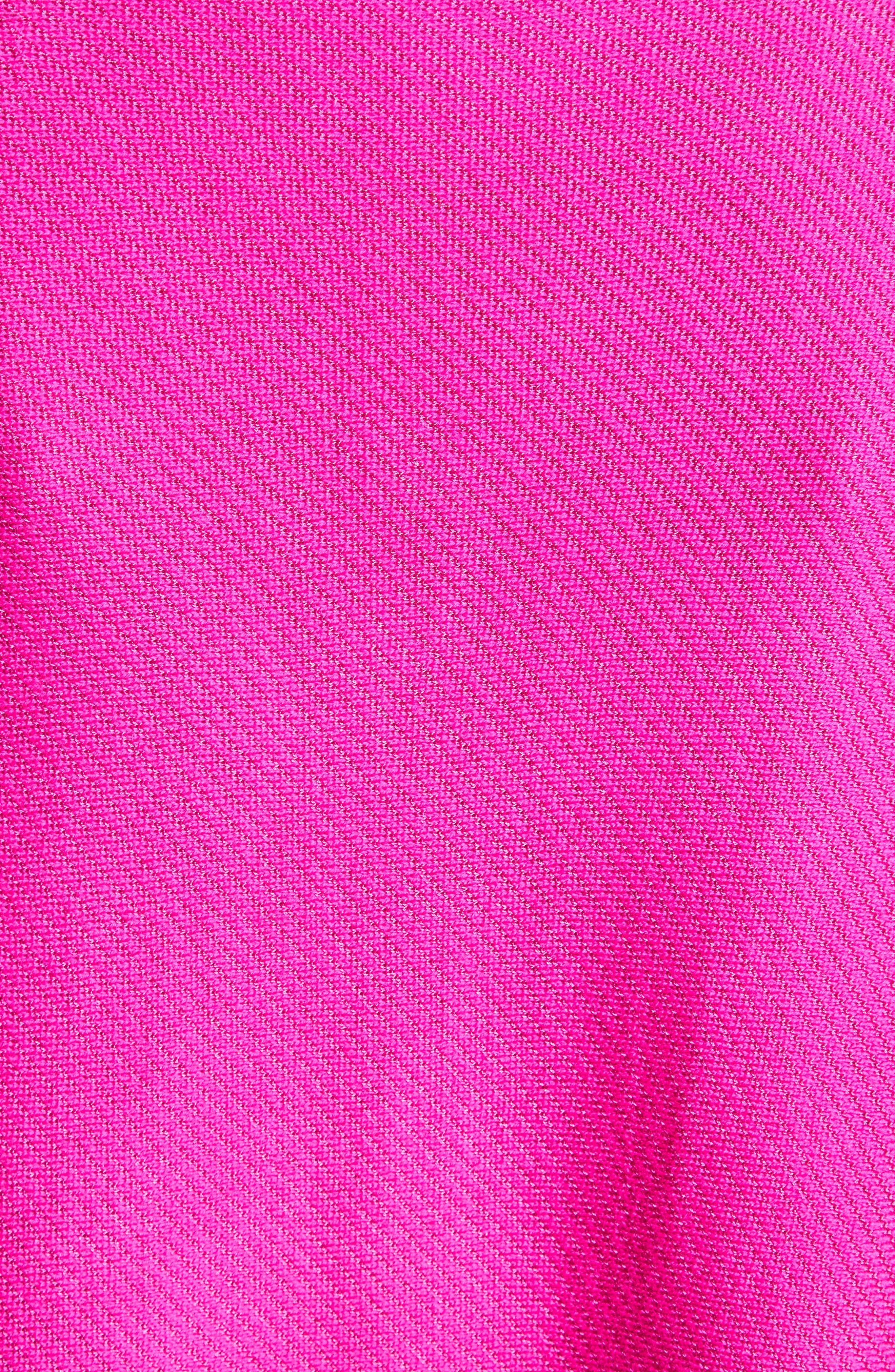 Alternate Image 5  - St. John Collection Matte Shine Weave Knit Tunic