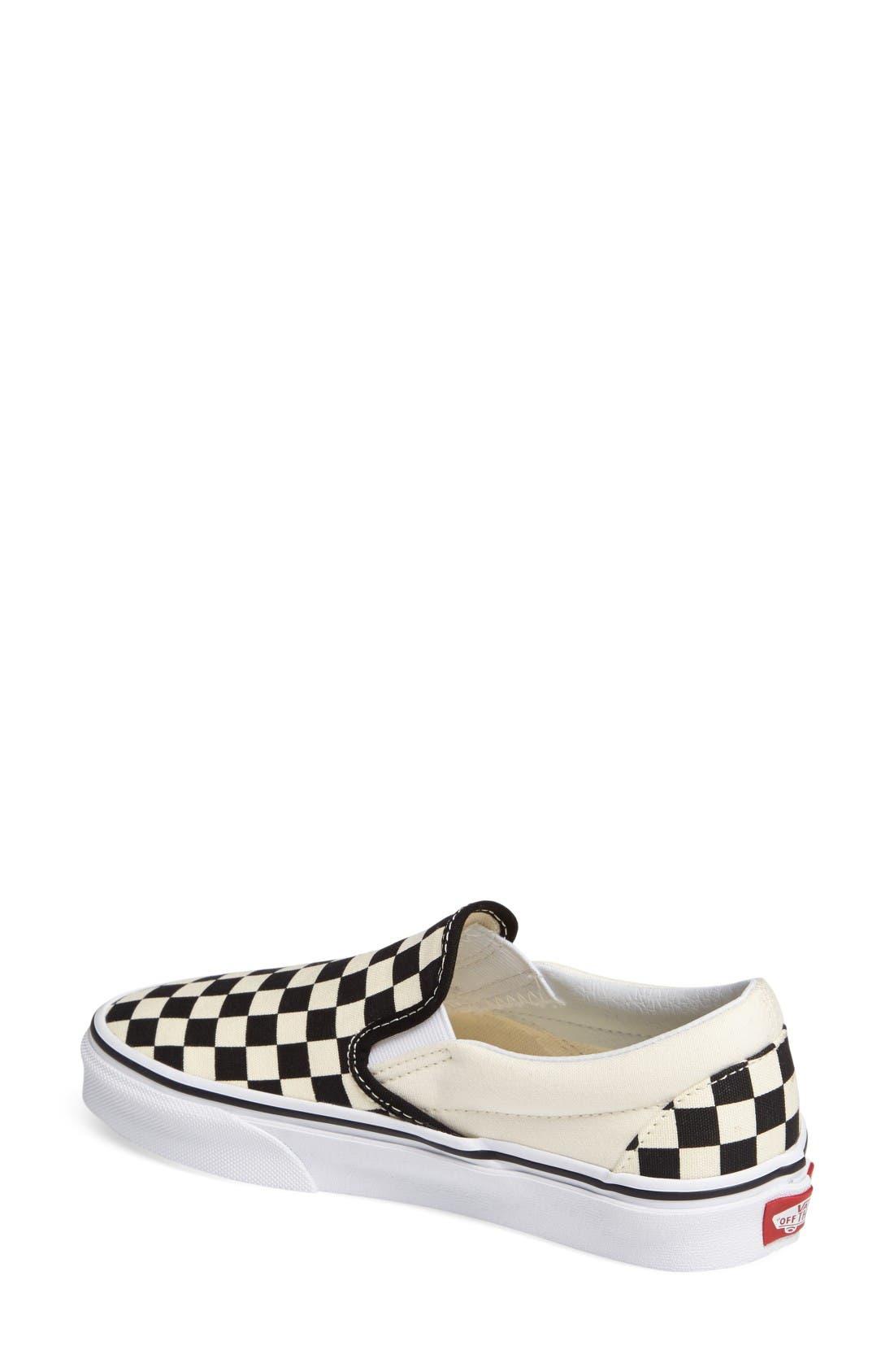Alternate Image 2  - Vans Classic Sneaker (Women)