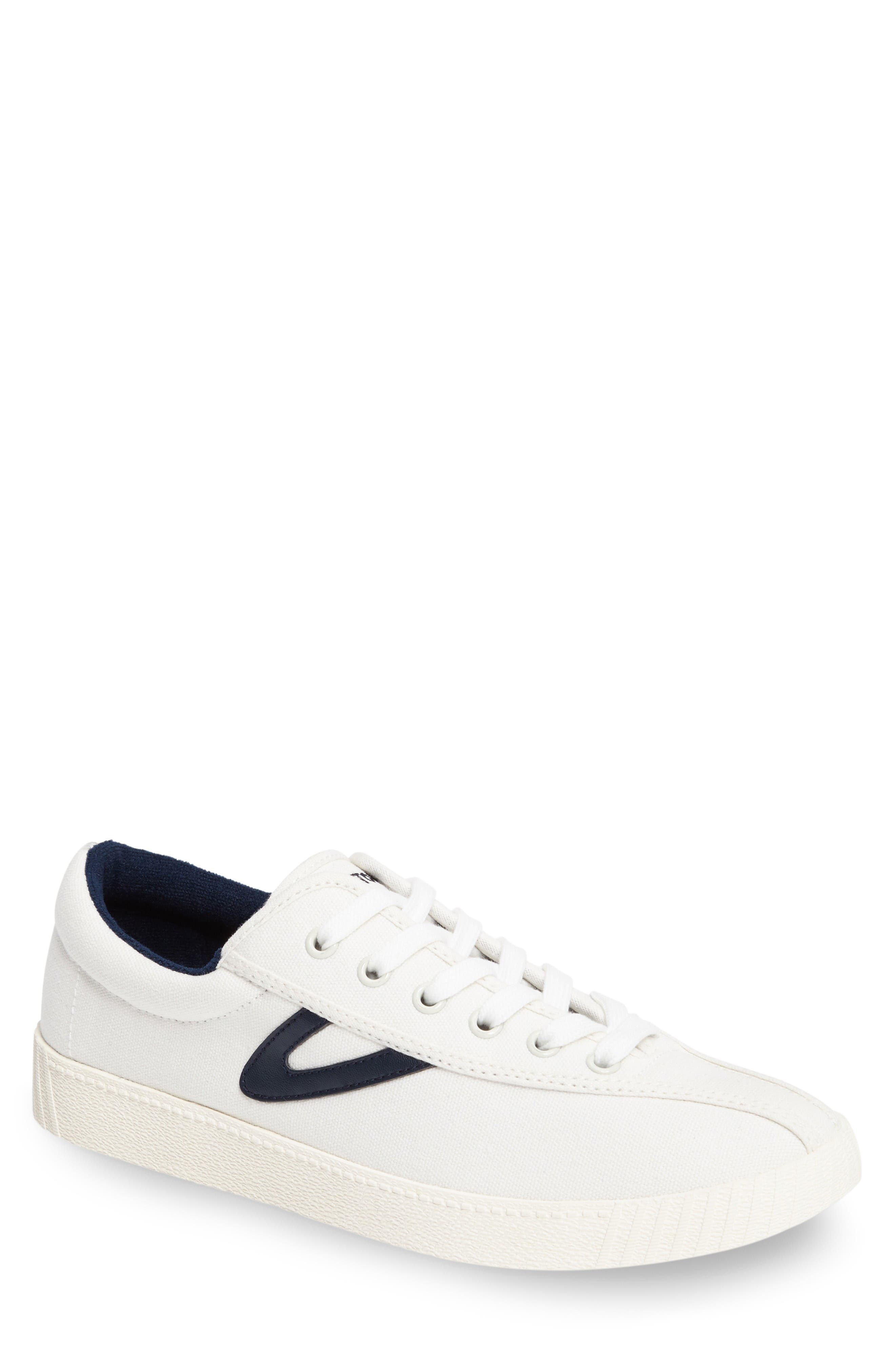 Nylite Plus Sneaker,                         Main,                         color, White/ White/ Night Canvas