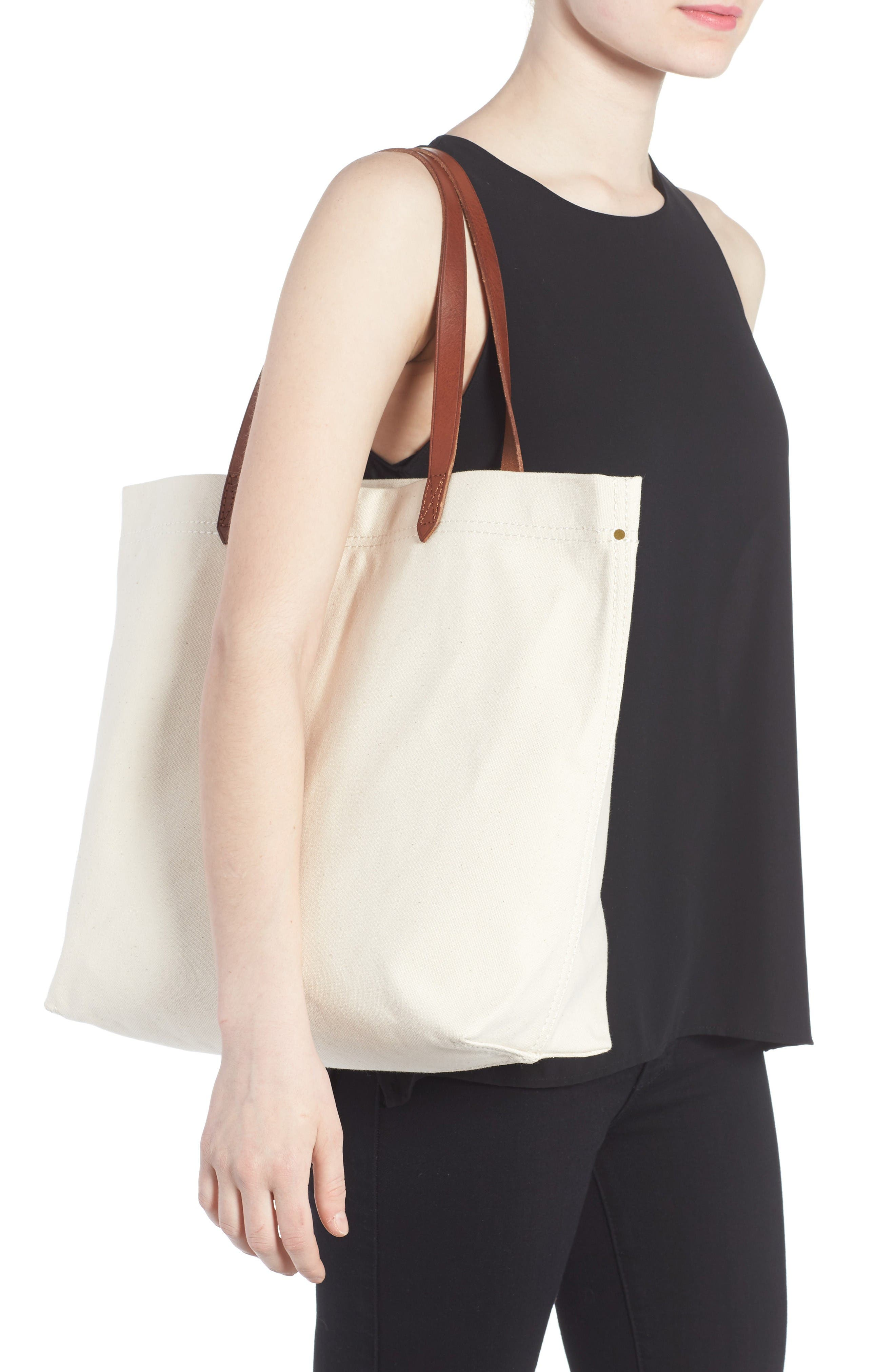 Alternate Image 2  - Madewell Canvas Transport Tote