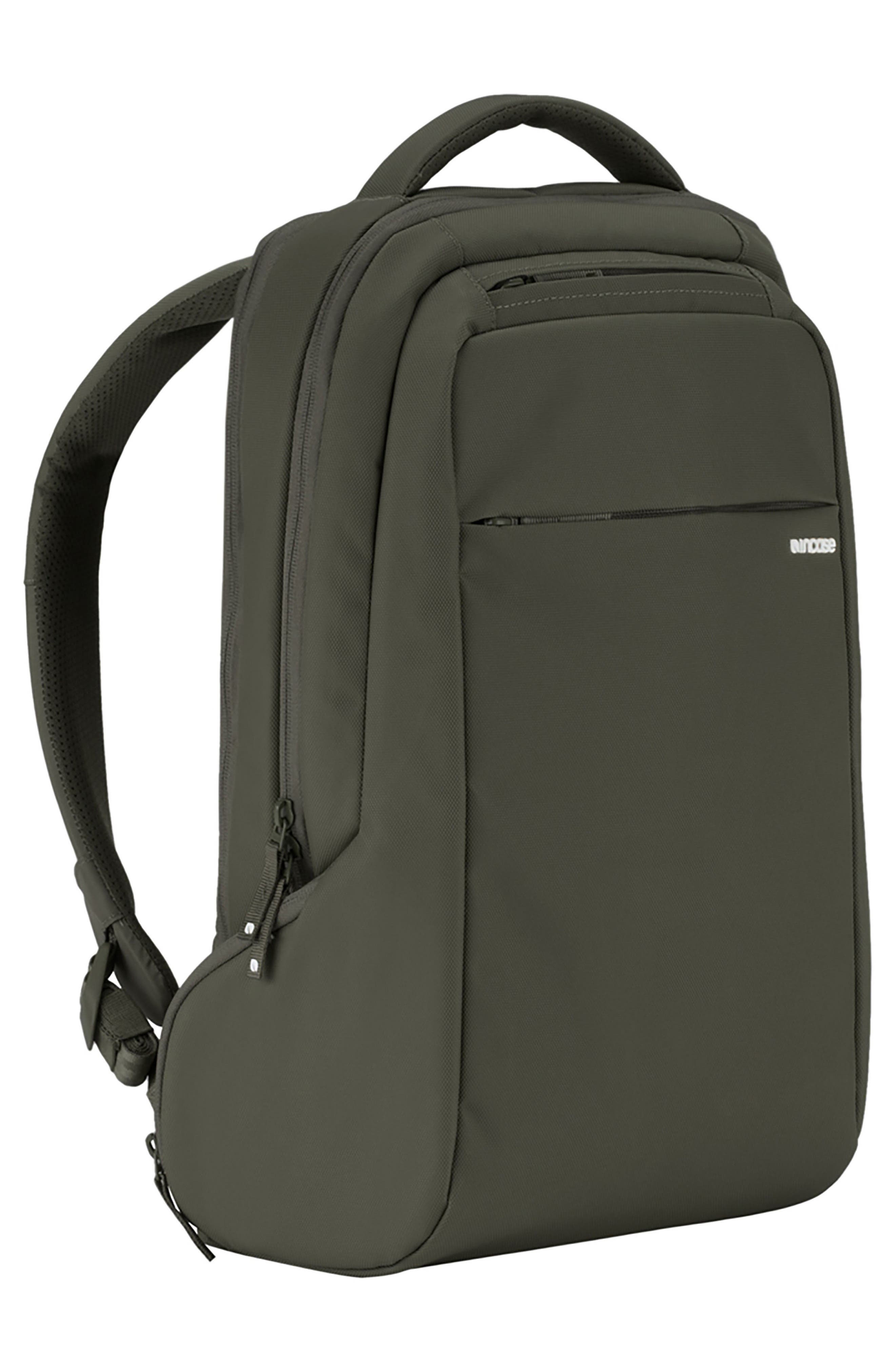 Icon Slim Backpack,                             Alternate thumbnail 4, color,                             Anthracite
