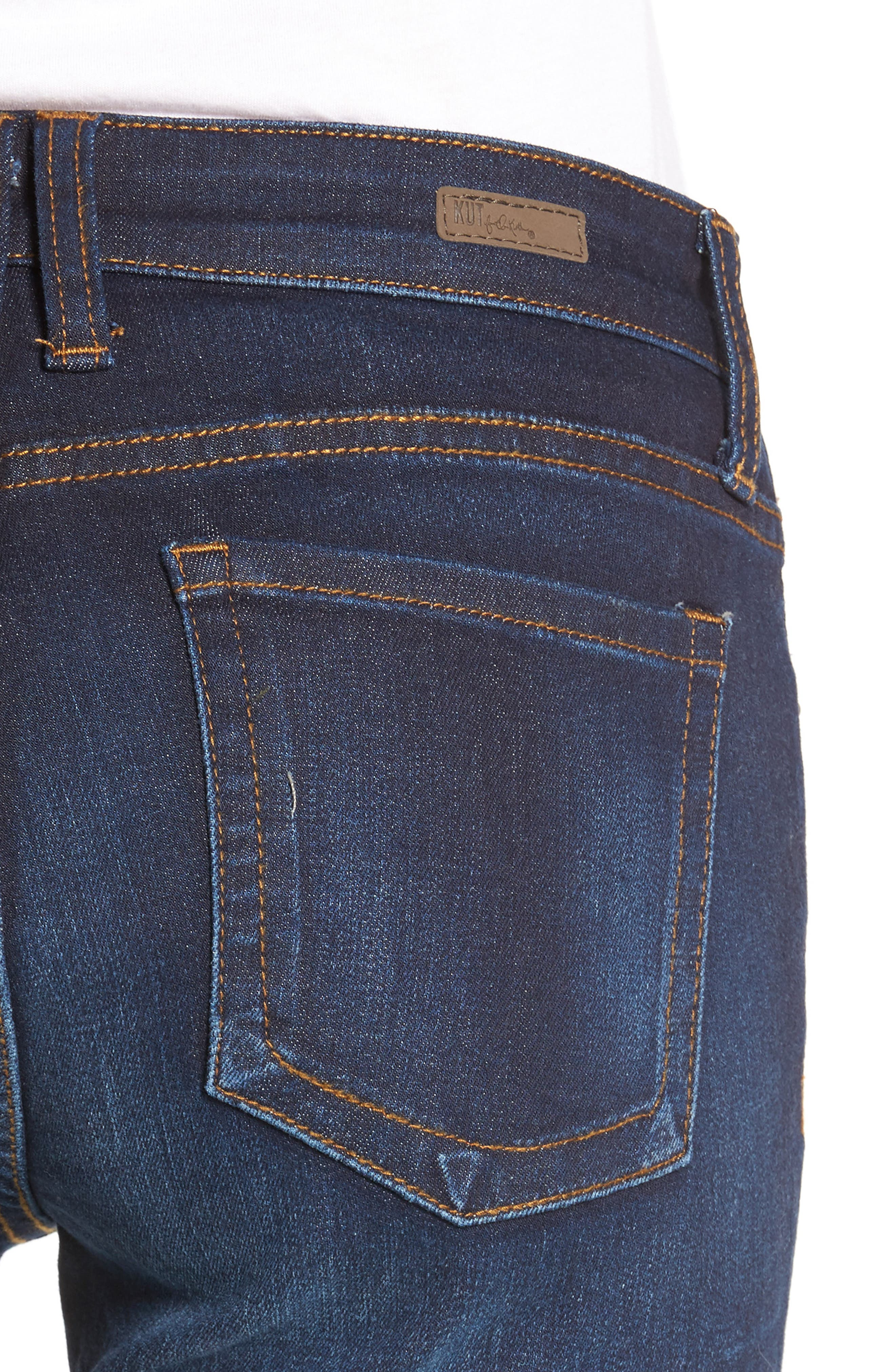 Alternate Image 4  - KUT from the Kloth Catherine Boyfriend Jeans (Adaptability)