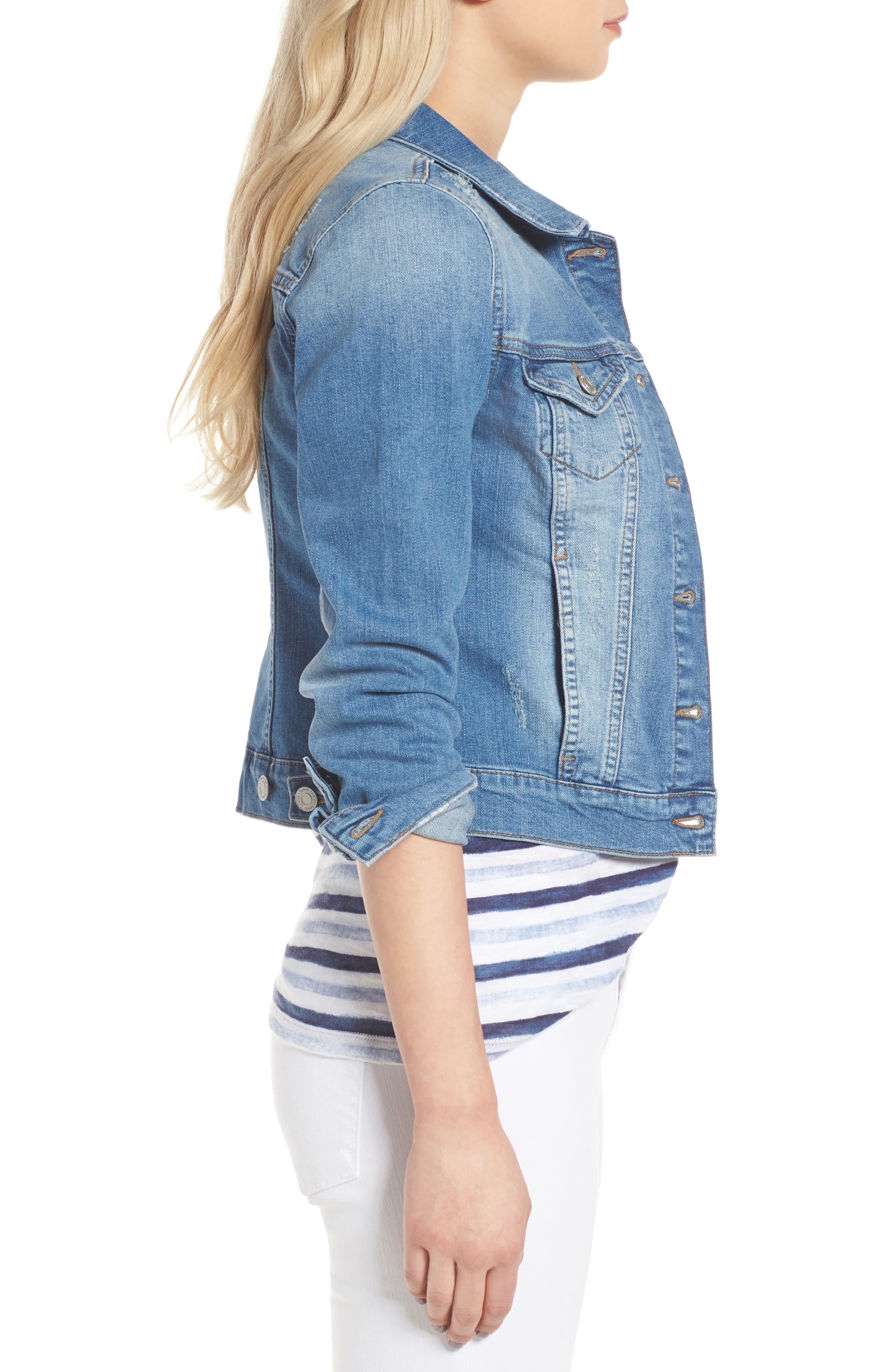 Alternate Image 3  - Mavi Jeans Samantha Denim Jacket