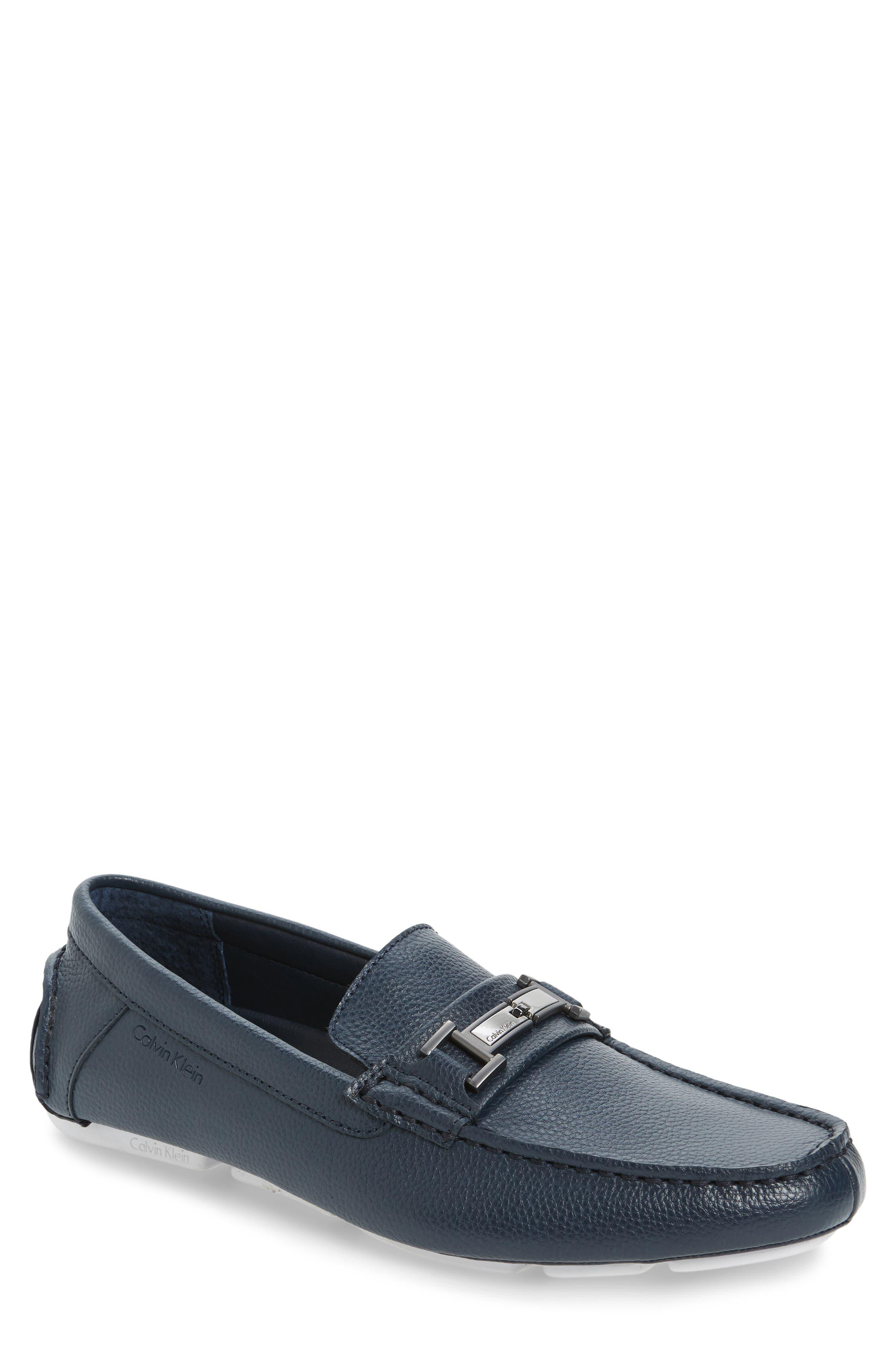 Alternate Image 1 Selected - Calvin Klein Magnus Driving Shoe (Men)