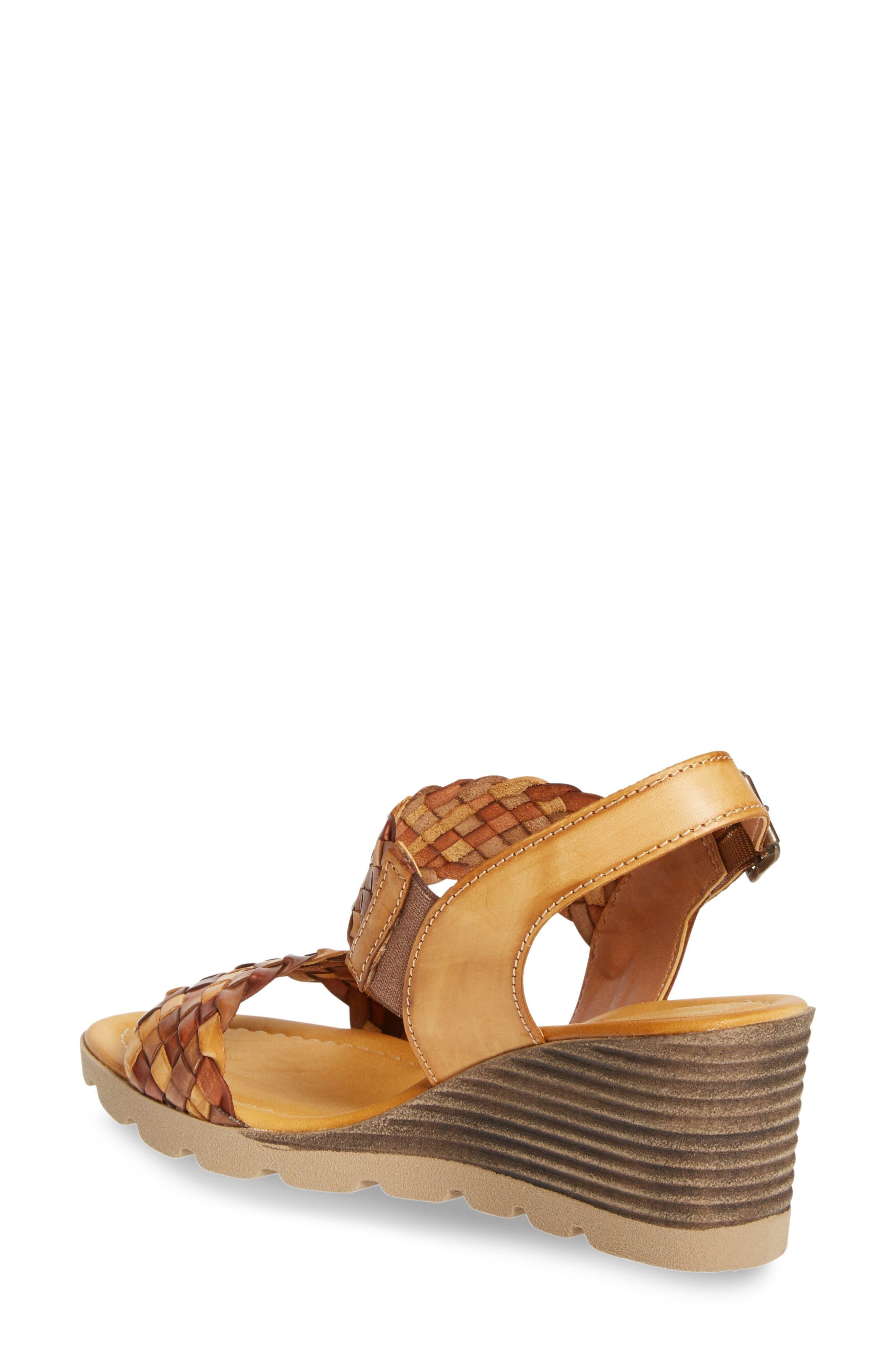 Alternate Image 2  - Napa Flex Cool Wedge Sandal (Women)