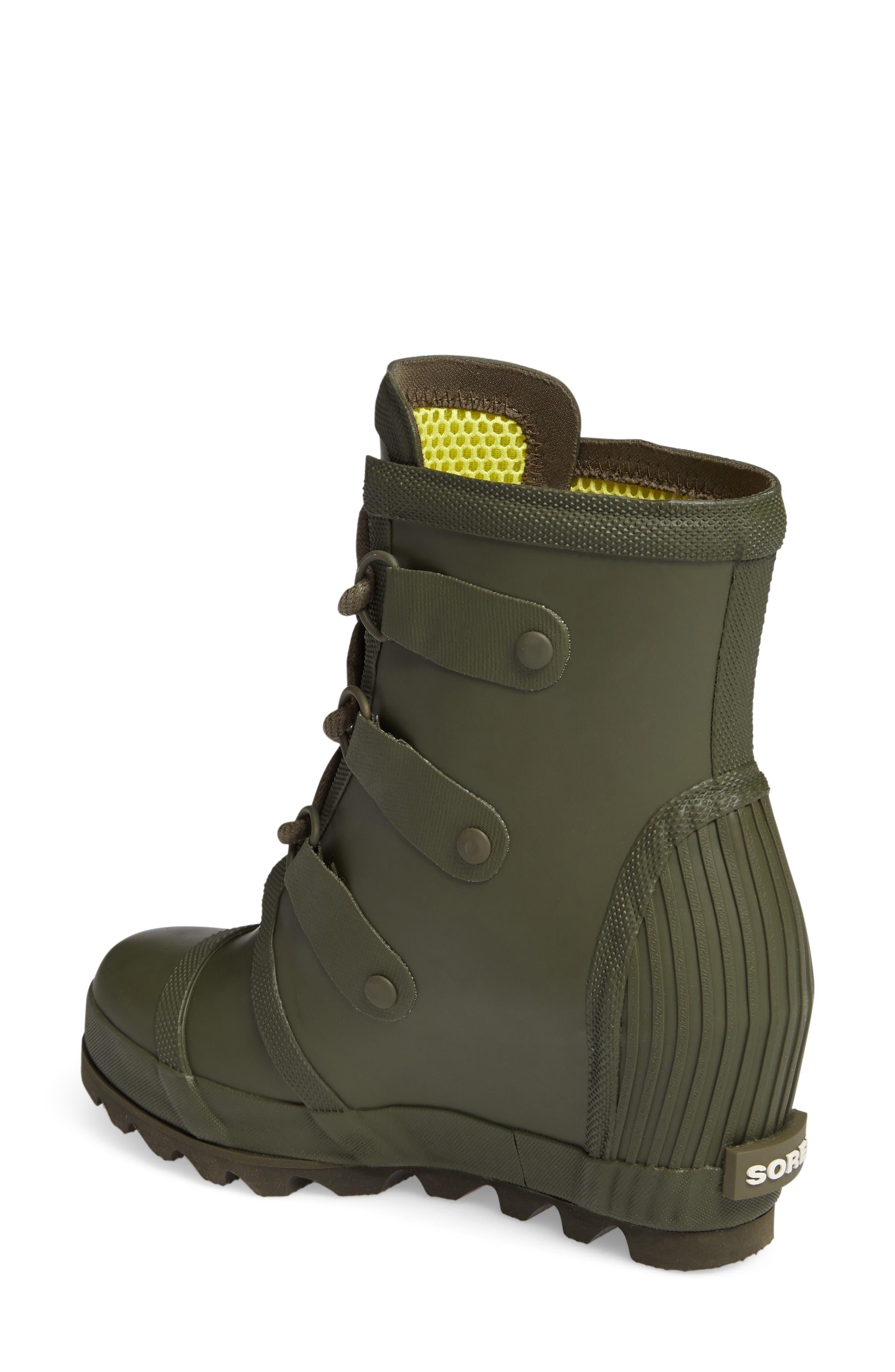 Alternate Image 2  - SOREL Joan Wedge Rain Boot (Women)