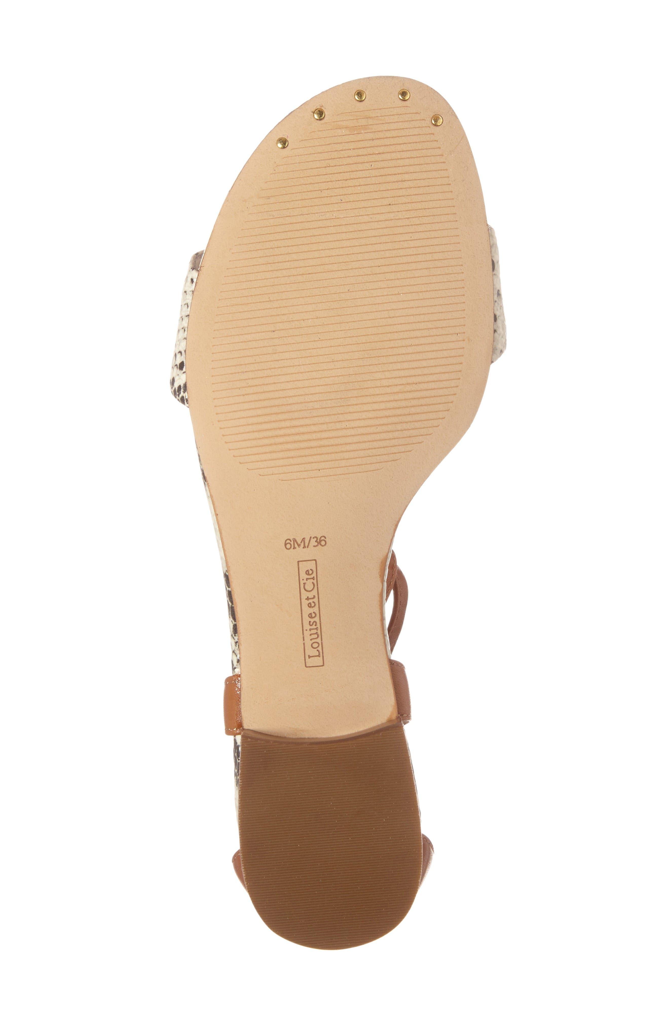 Alternate Image 4  - Louise et Cie Adley Ankle Strap Sandal (Women)