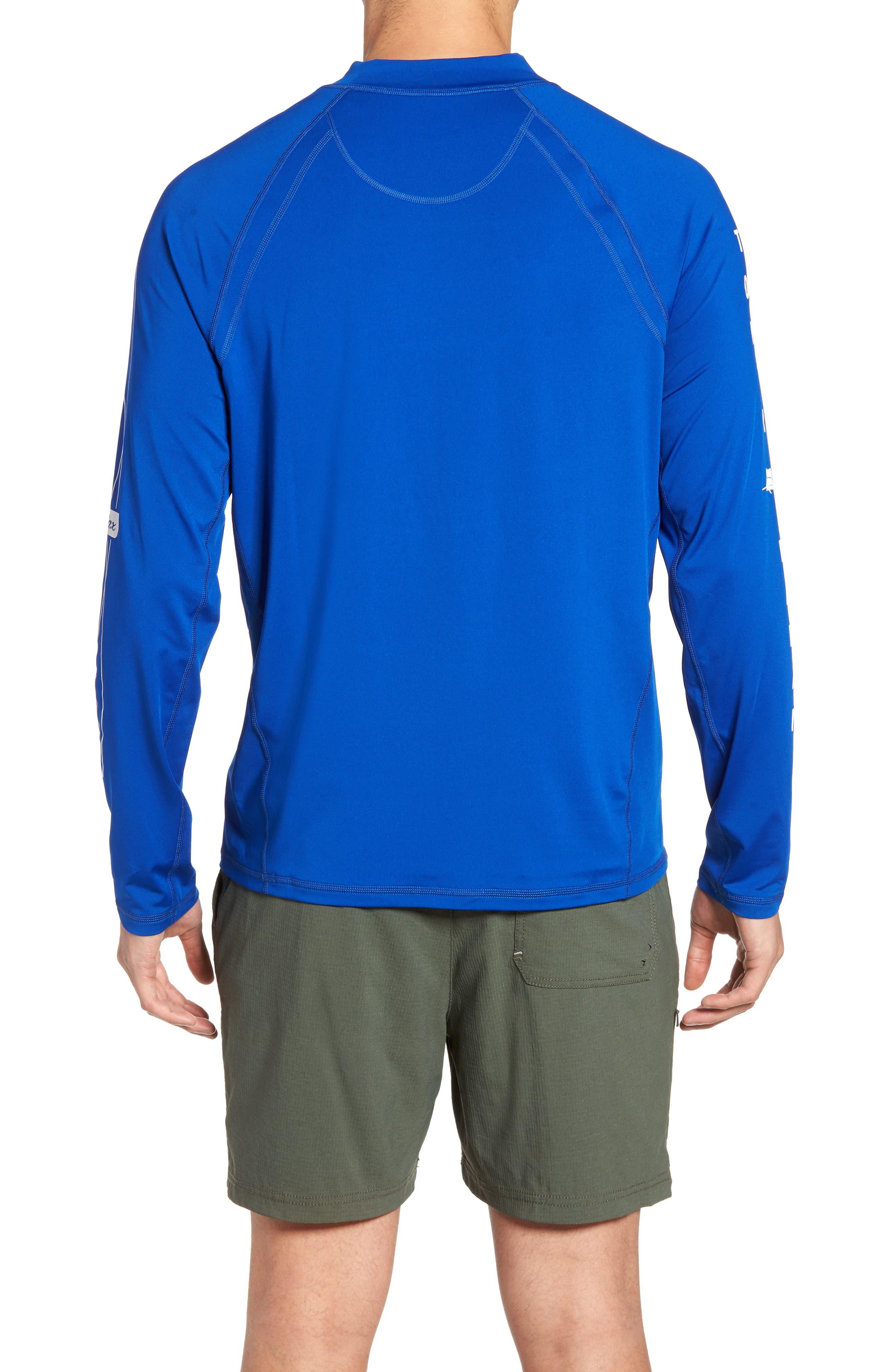 Beach Break Surf Shirt,                             Alternate thumbnail 2, color,                             Old Royal