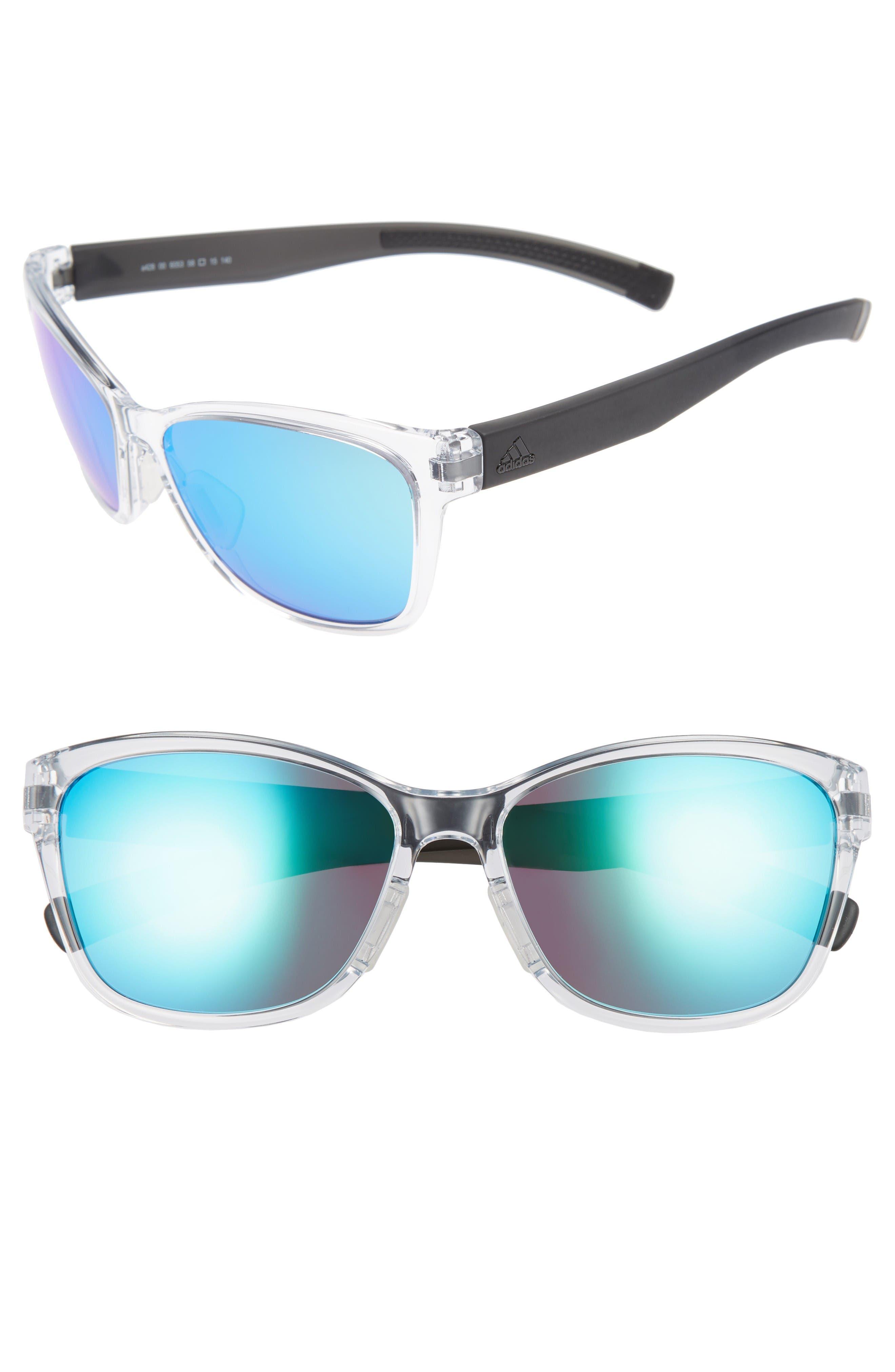 Main Image - adidas Excalate 58mm Mirrored Sunglasses