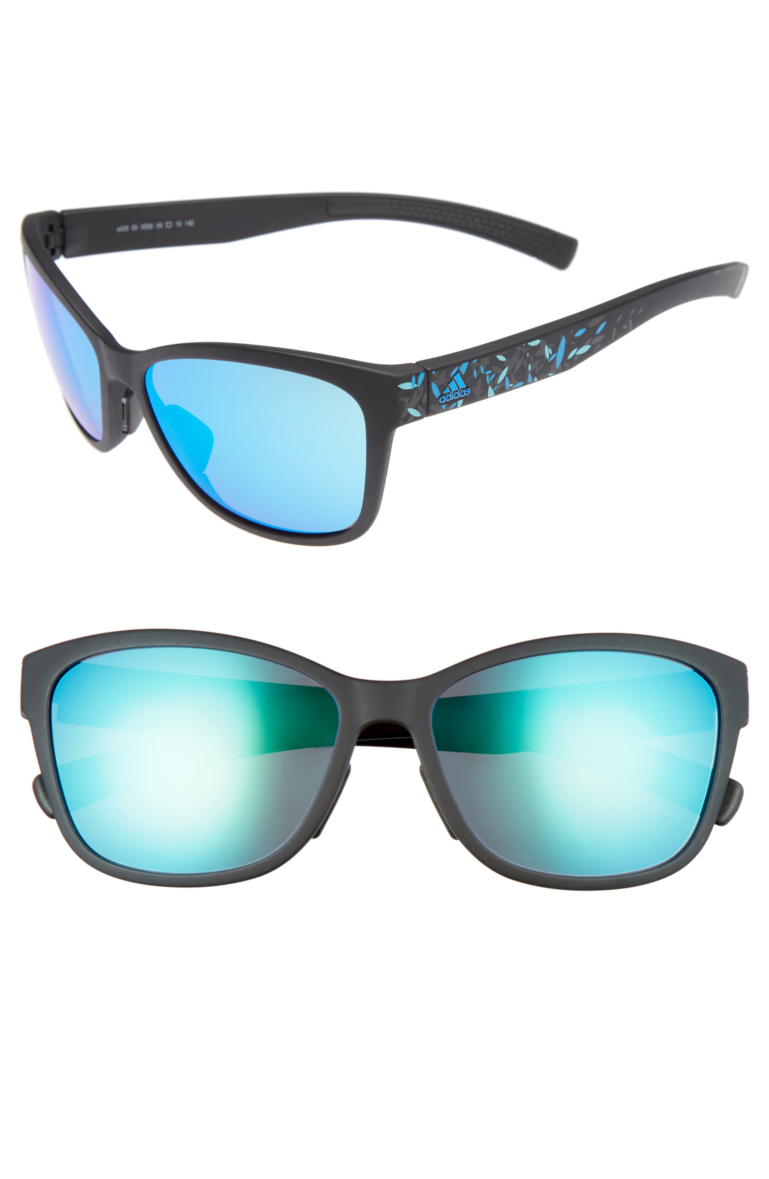 Main Image - adidas Excalate 58mm Mirrored Sunglasses