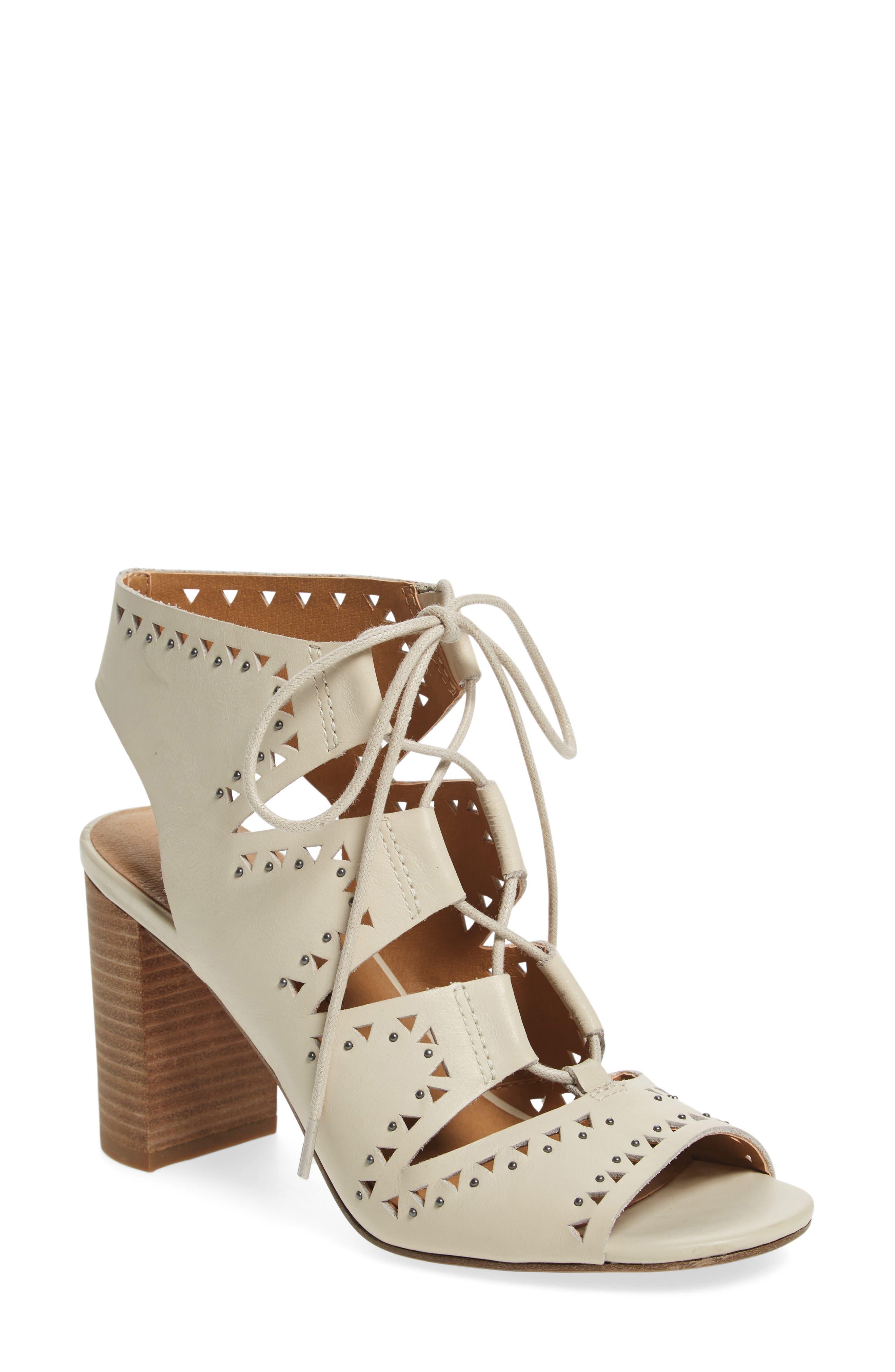 Lucky Brand Tafia Lace-Up Sandal (Women)