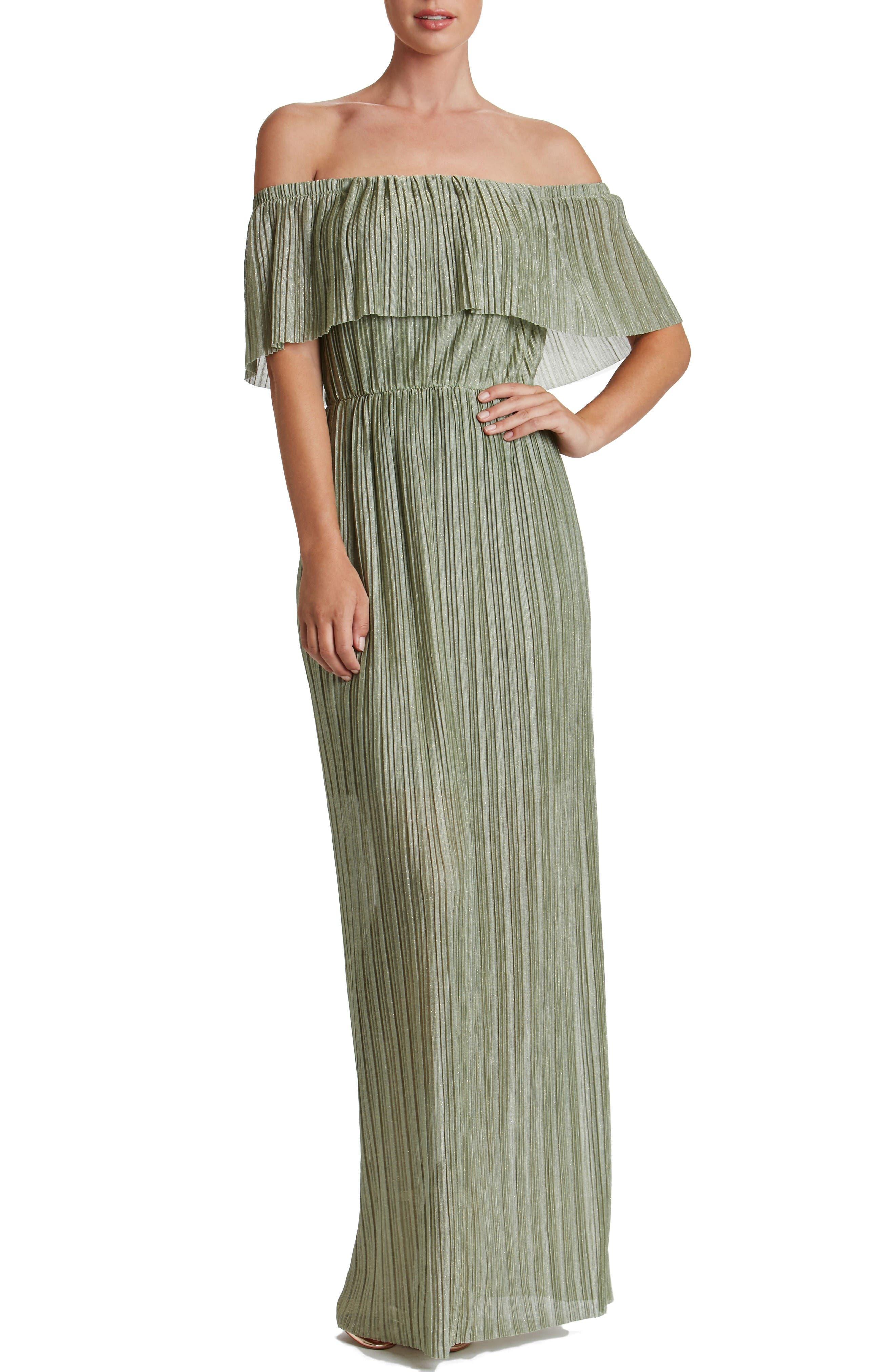 Main Image - Dress the Population Athena Maxi Dress