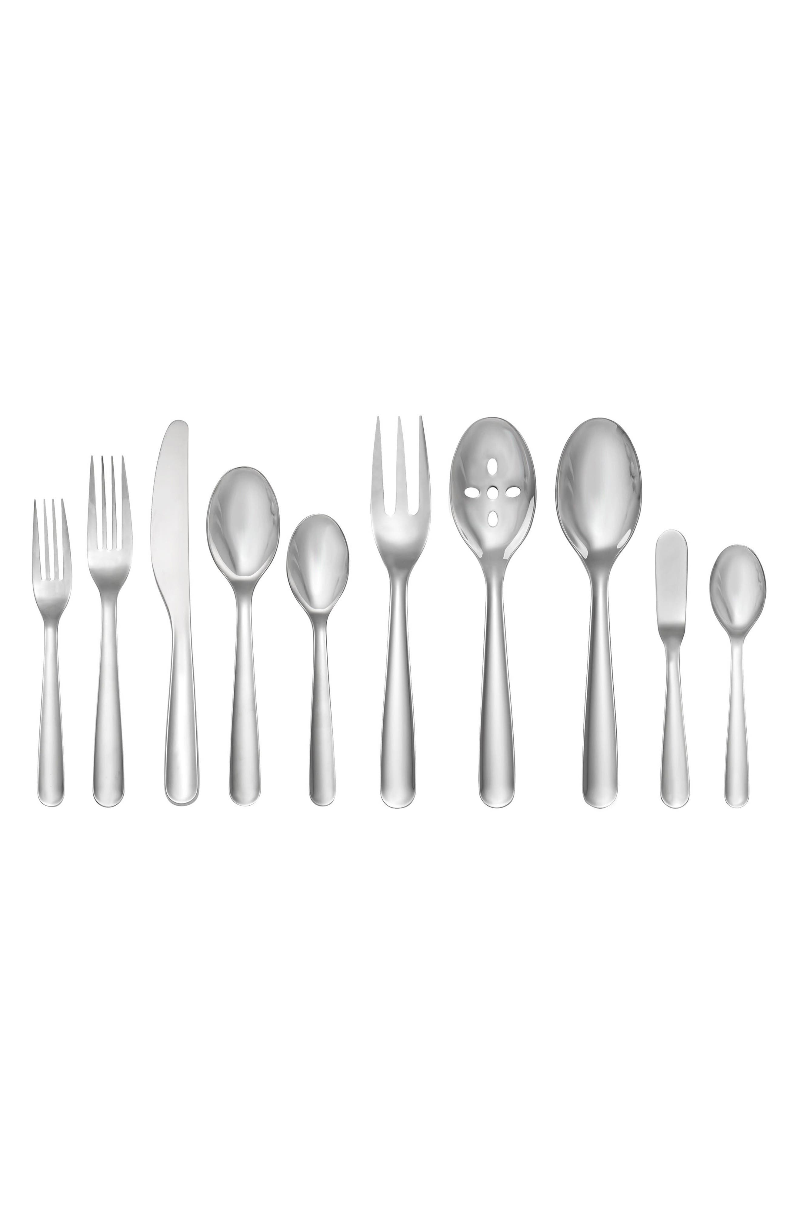 Nambé POP 45-Piece Flatware Set