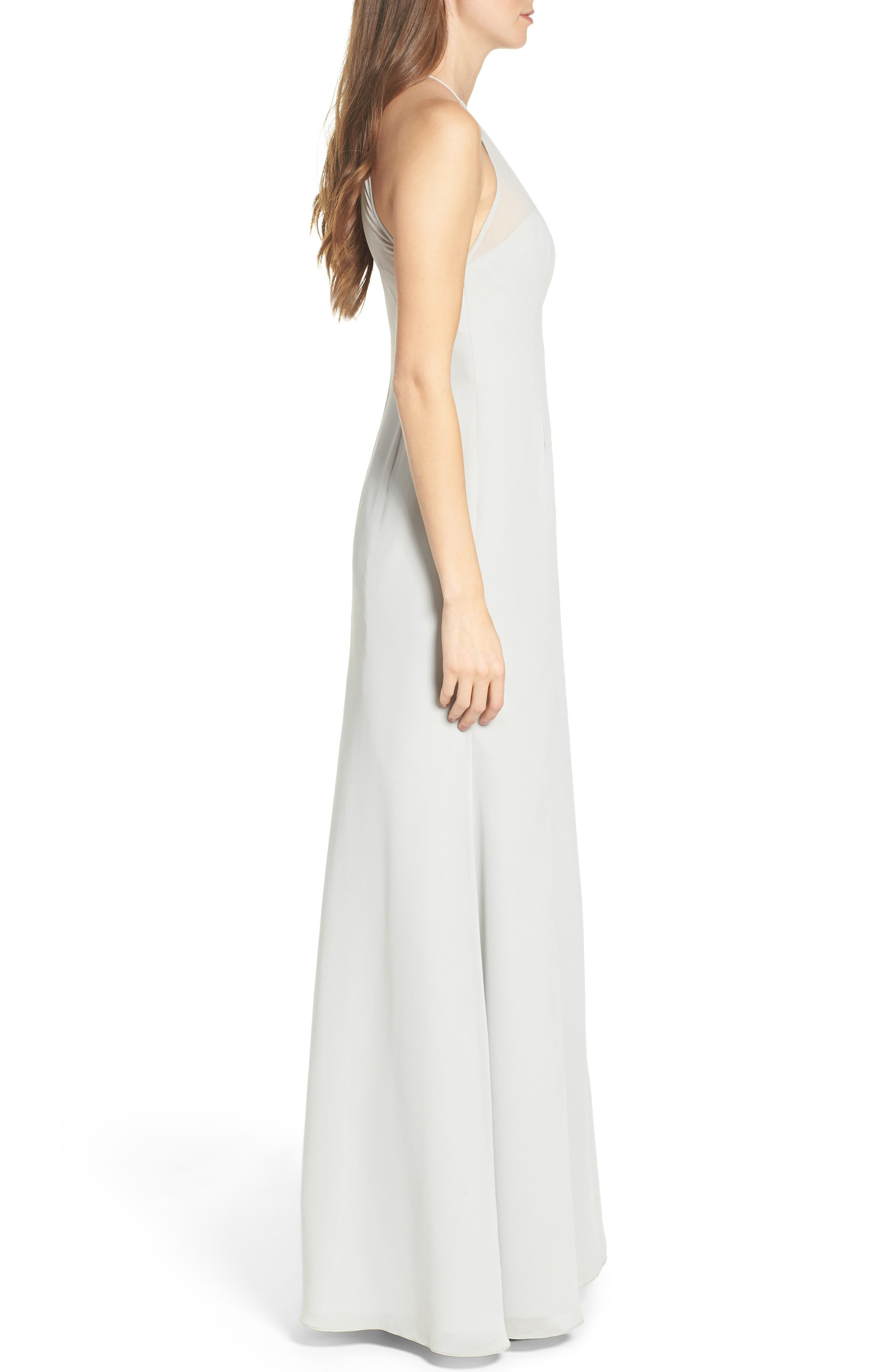 Alternate Image 3  - WTOO Chiffon A-Line Gown