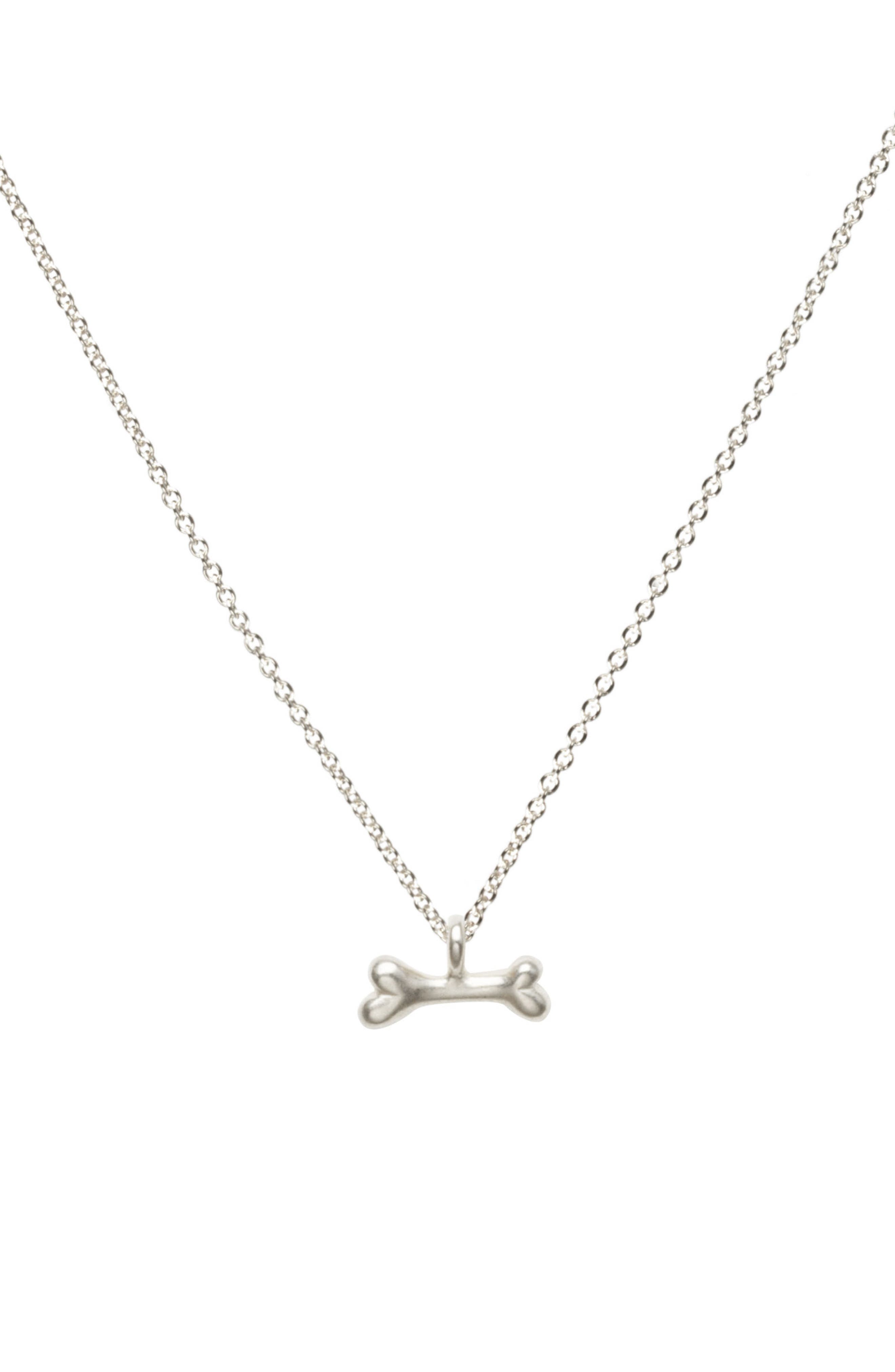 DOGEARED In Dogs We Trust Pendant Necklace