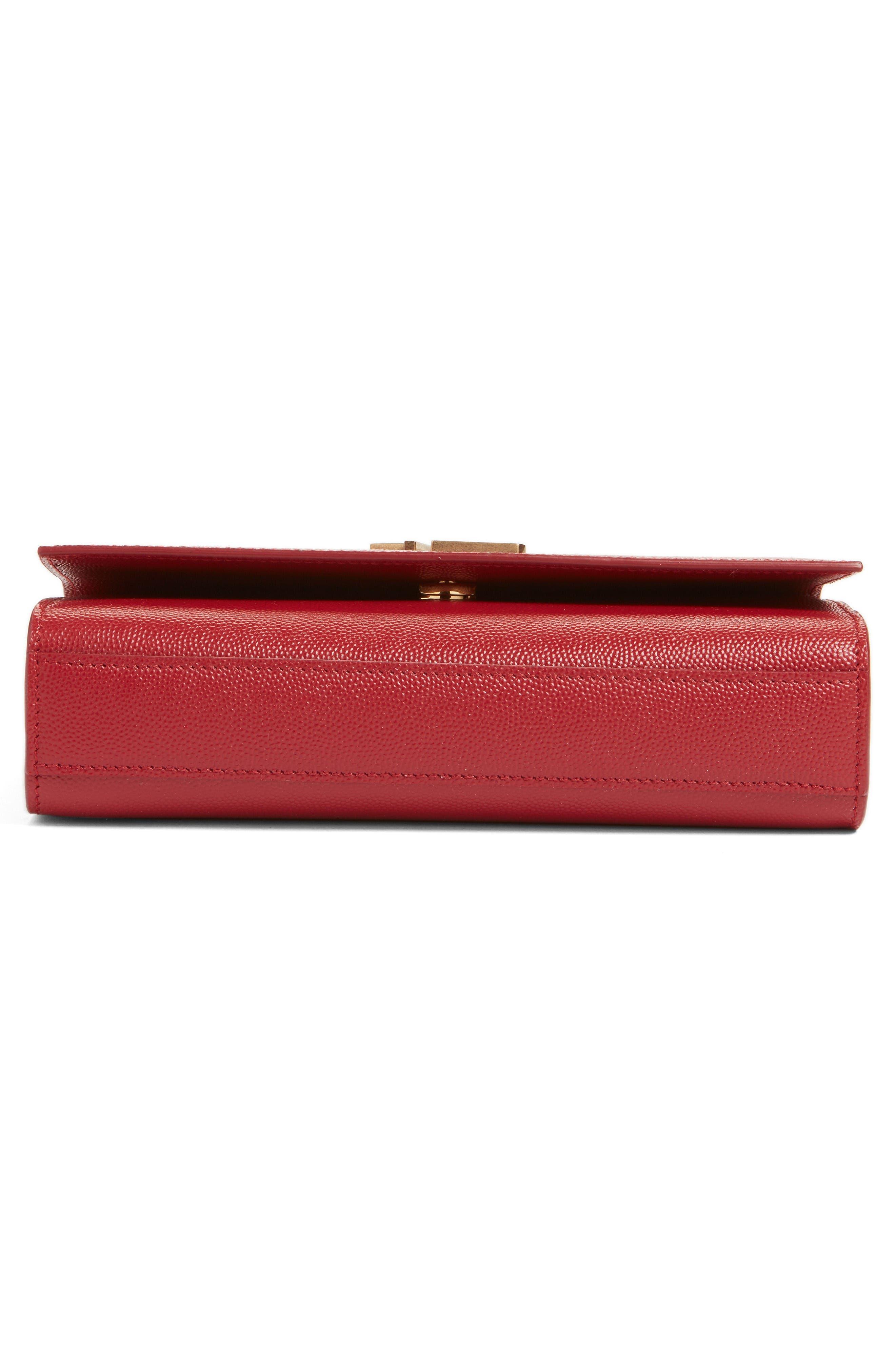 Alternate Image 5  - Saint Laurent Small Kate Calfskin Leather Crossbody Bag