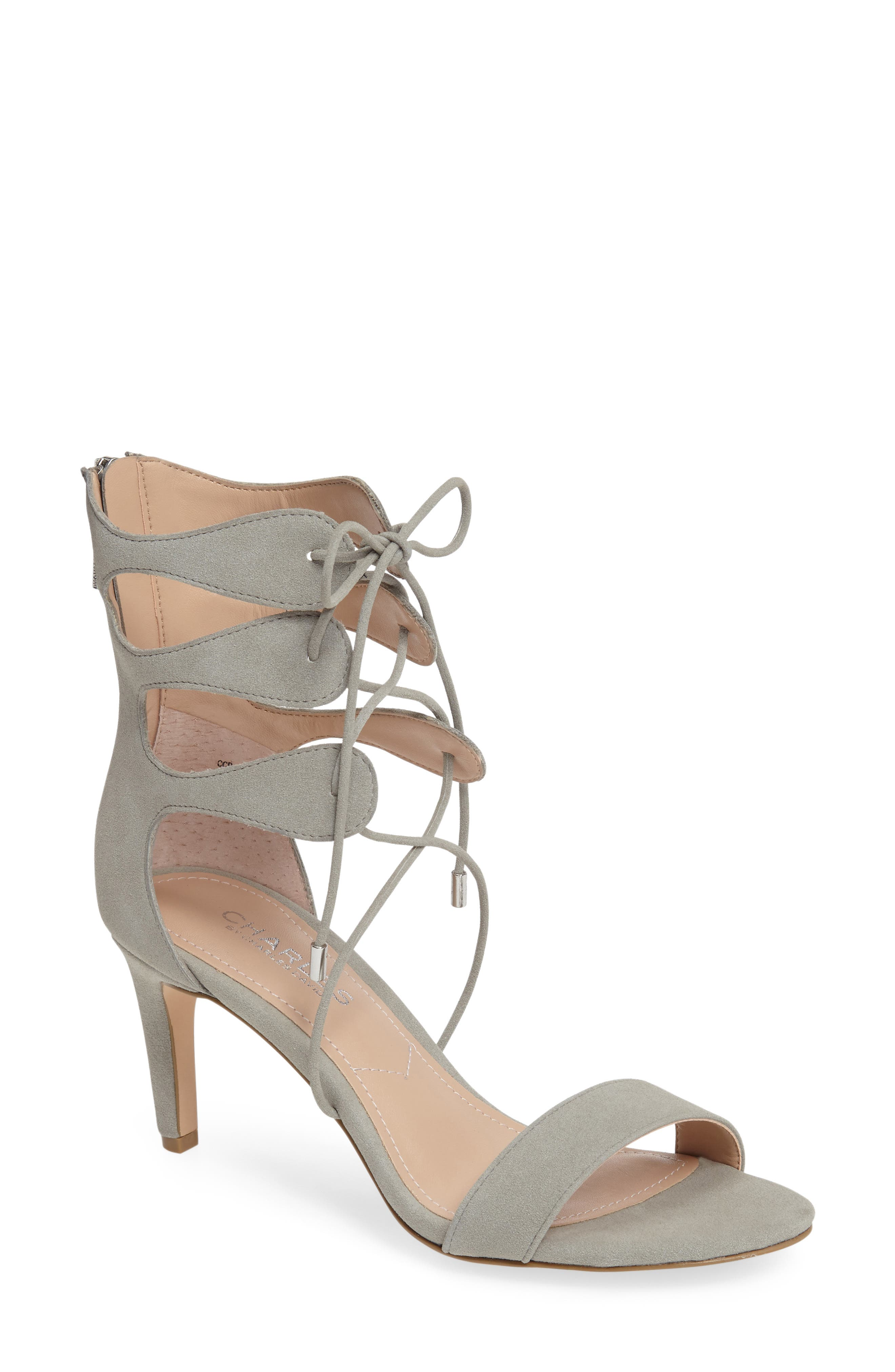 Alternate Image 1 Selected - Charles by Charles David Zone Lace-Up Sandal (Women)