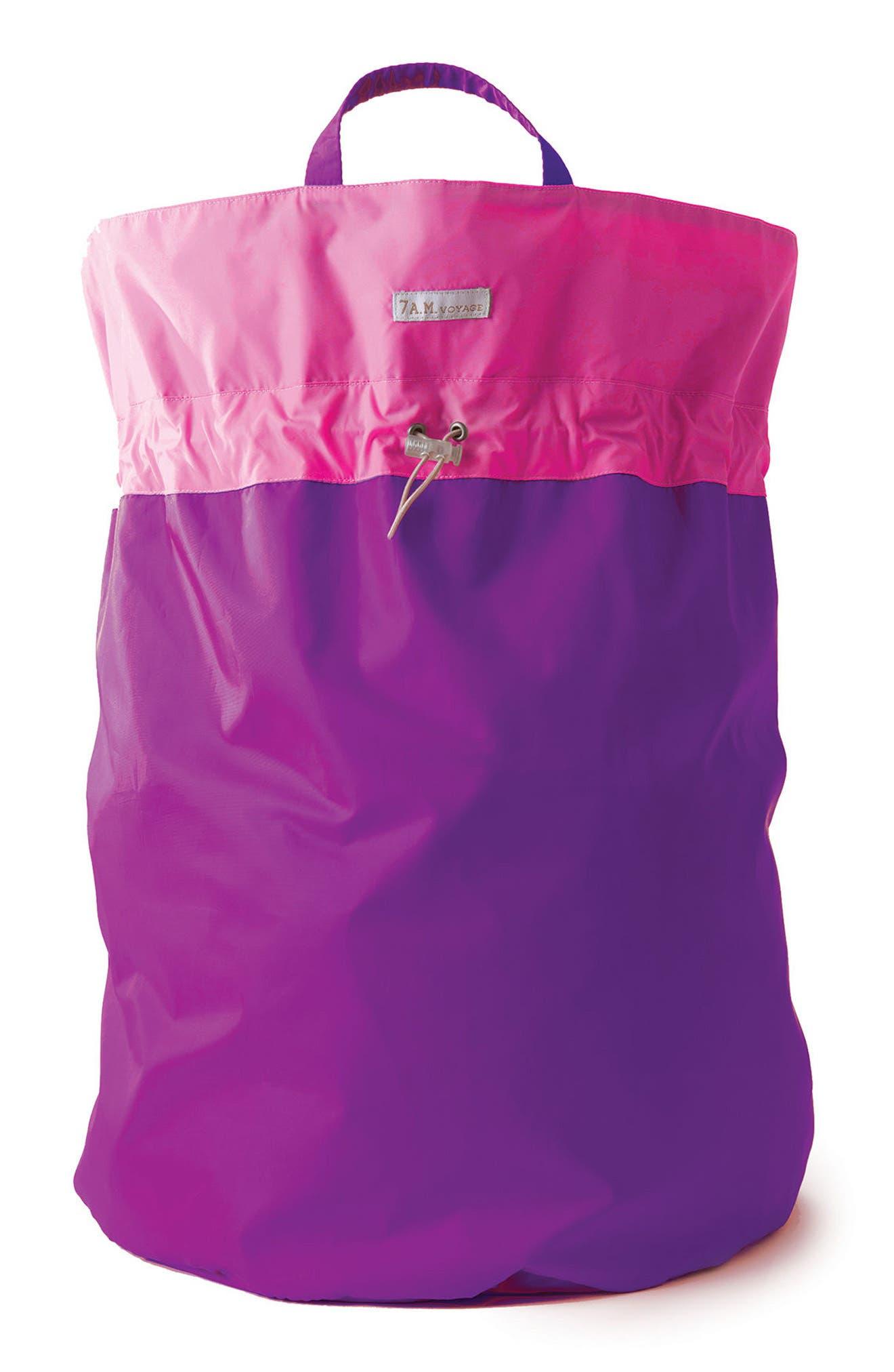 Alternate Image 1 Selected - 7 A.M. Enfant Water Repellent Hamper Bag