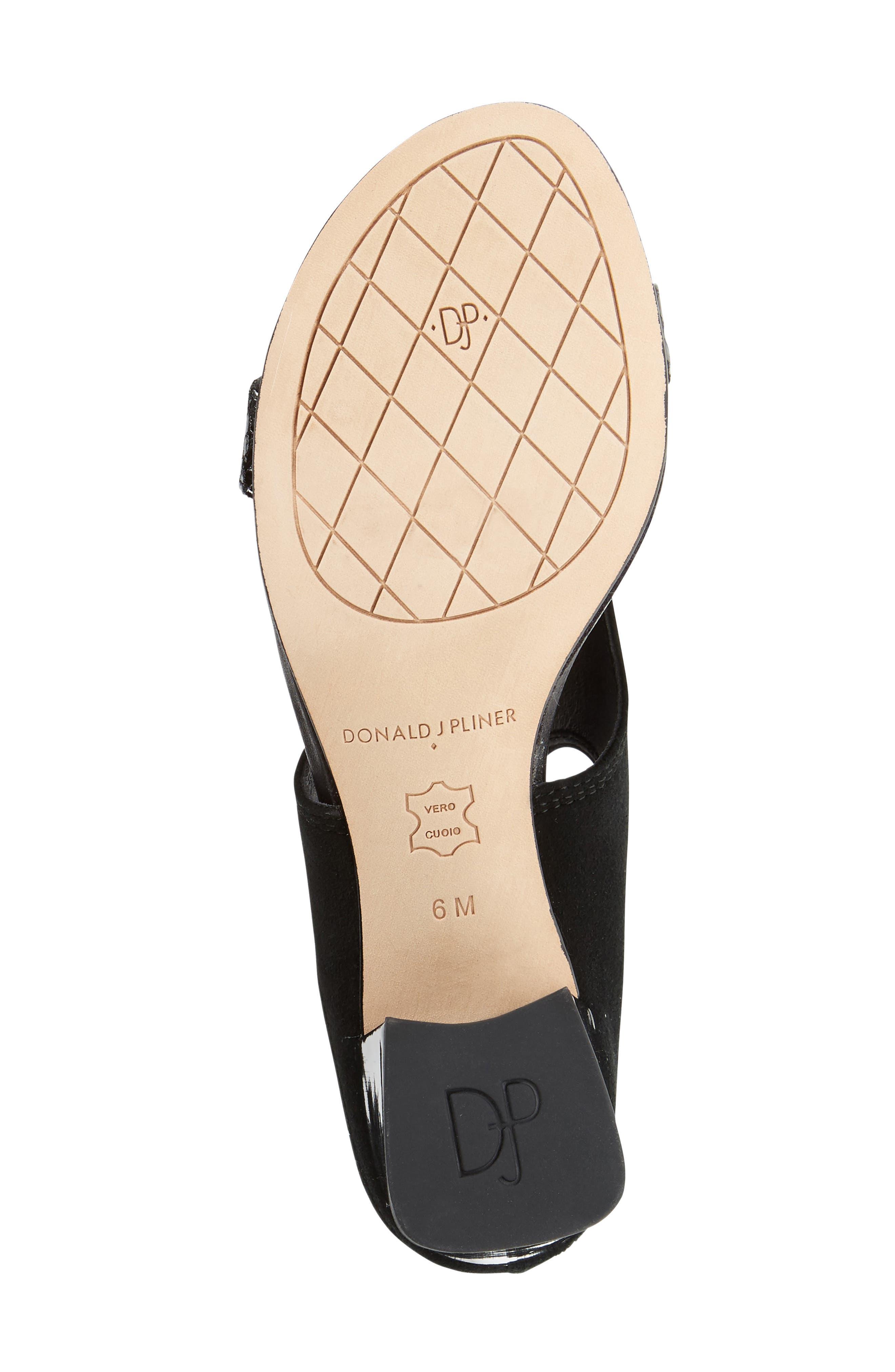 Alternate Image 4  - Donald J Pliner Ellee Block Heel Sandal (Women)