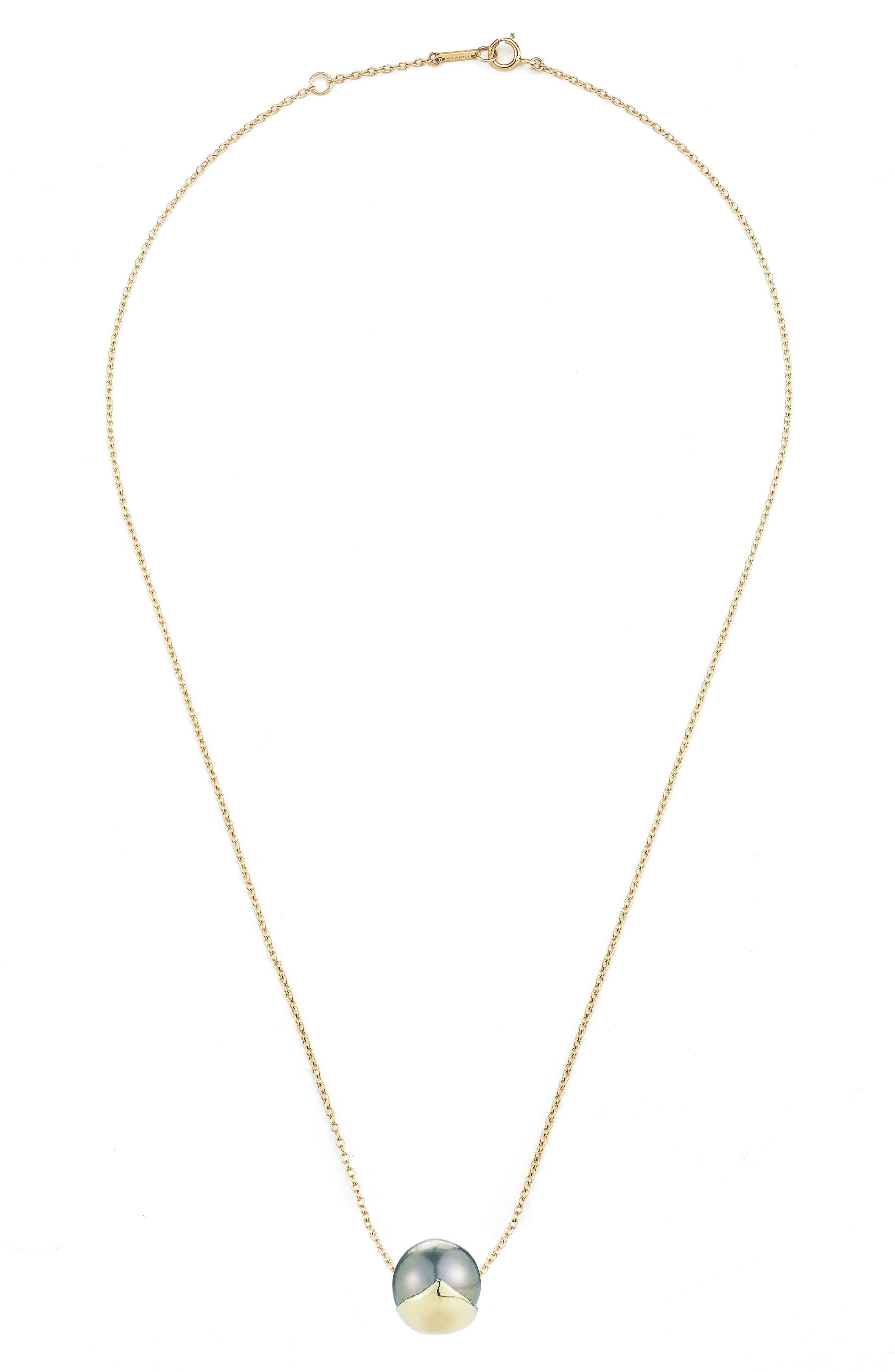 Mizuki Sea of Beauty Pearl Pendant Necklace