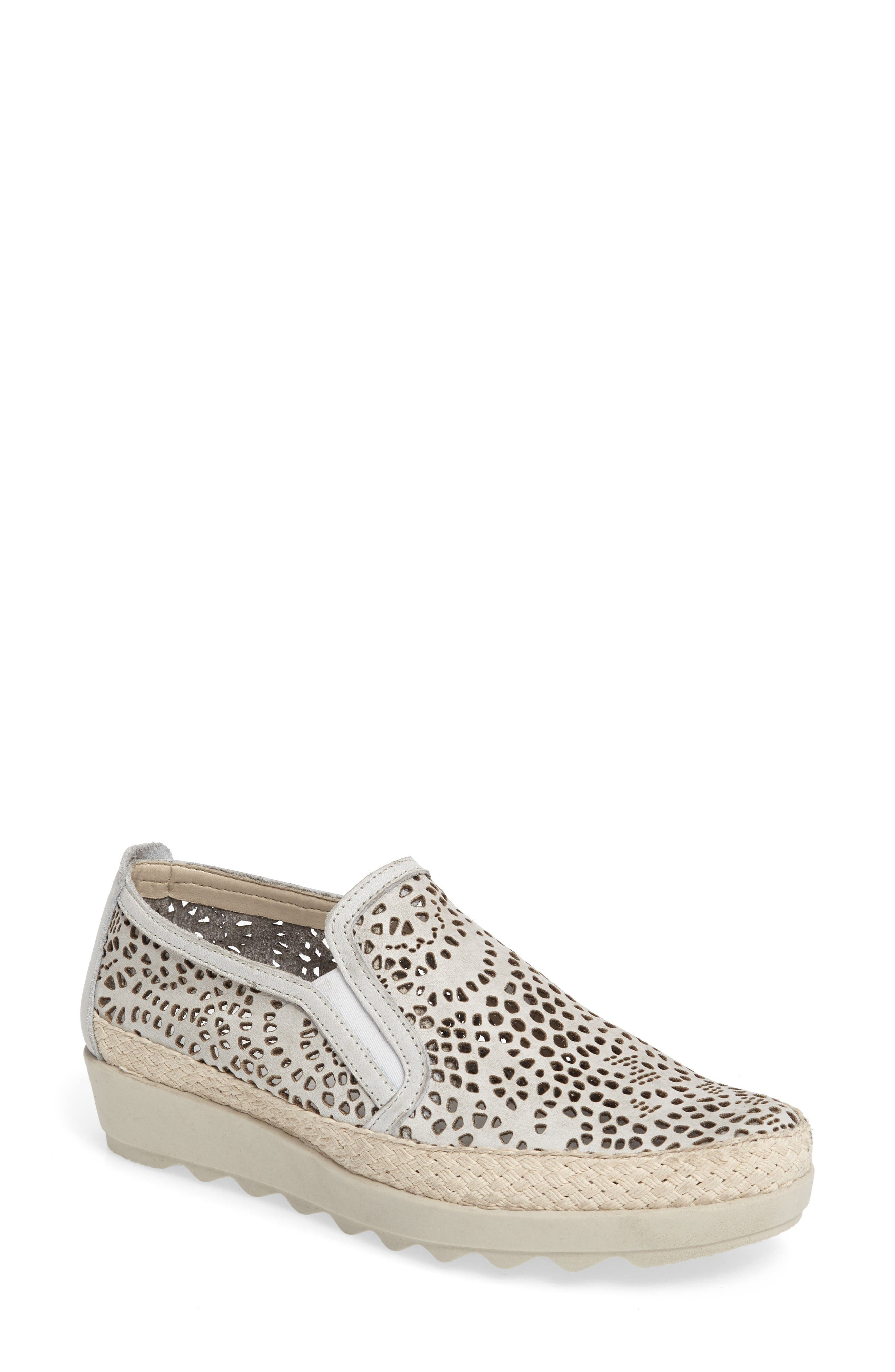 Main Image - The FLEXX Call Me Perforated Slip-On Sneaker (Women)