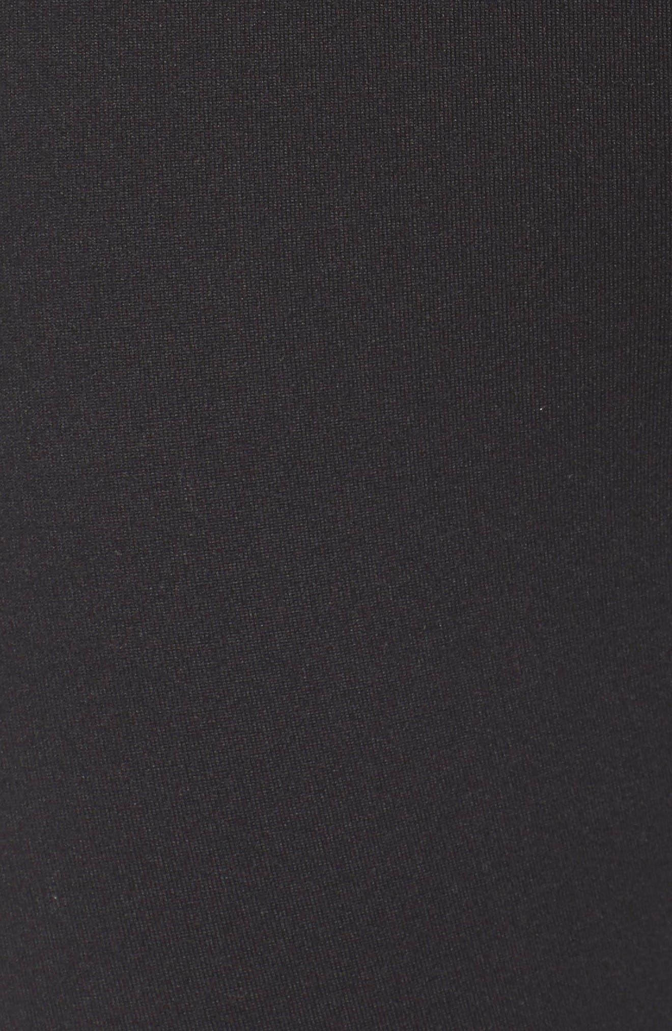 Alternate Image 5  - Zella Lace It Up High Waist Midi Leggings