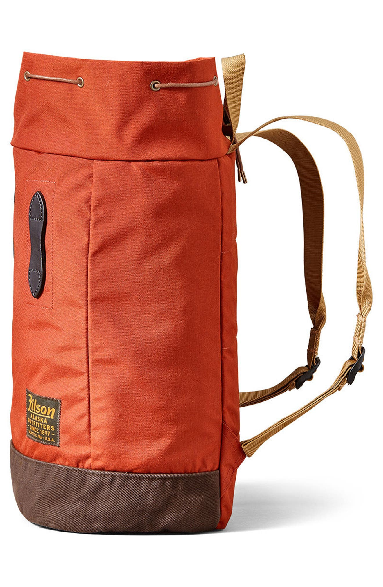 Day Pack,                             Alternate thumbnail 5, color,                             Rust Red