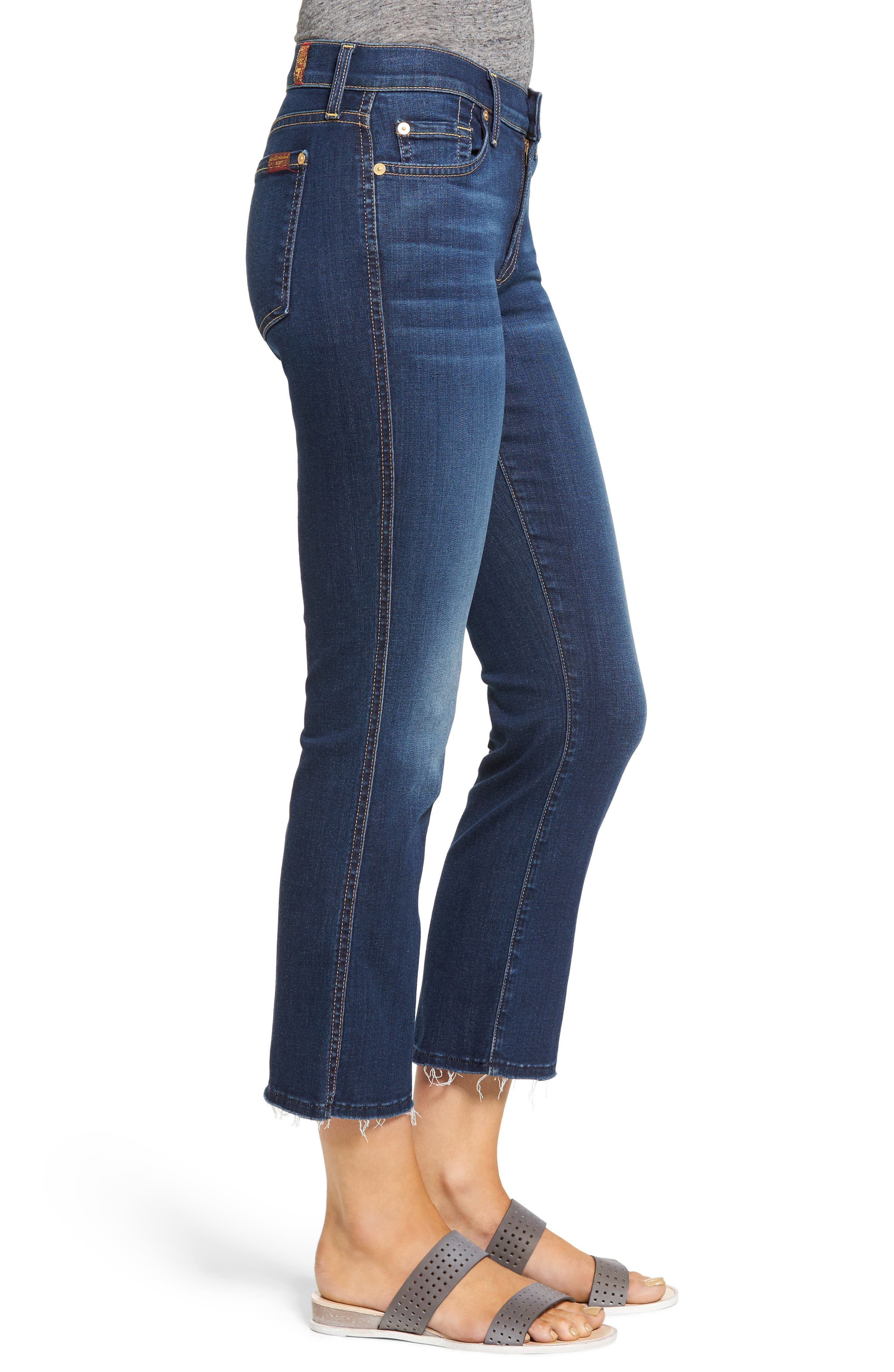 Alternate Image 3  - 7 For All Mankind® b(air) Crop Bootcut Jeans (Bair Duchess)