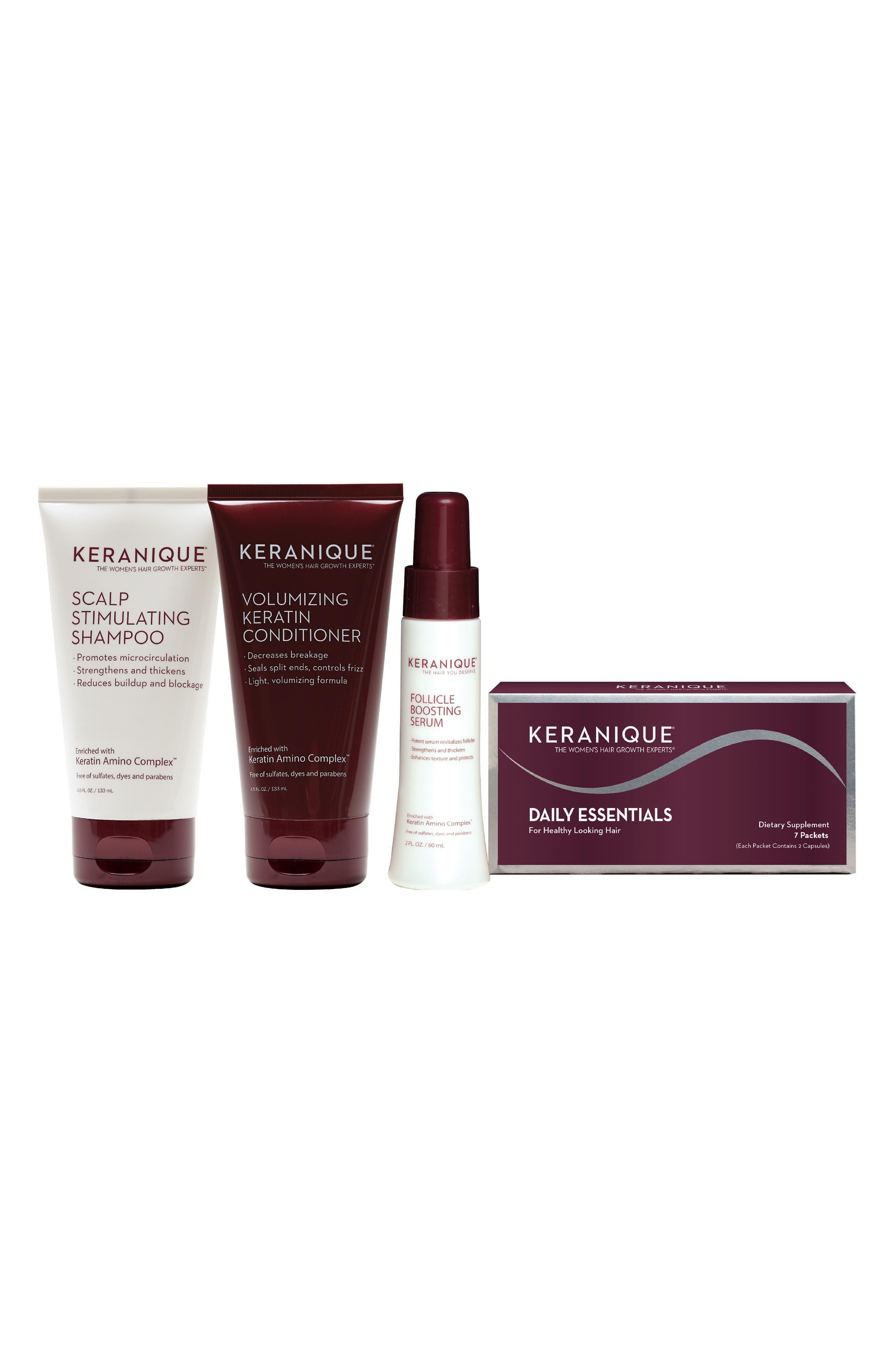 Keranique Nourishing & Volumizing Kit ($73 Value)